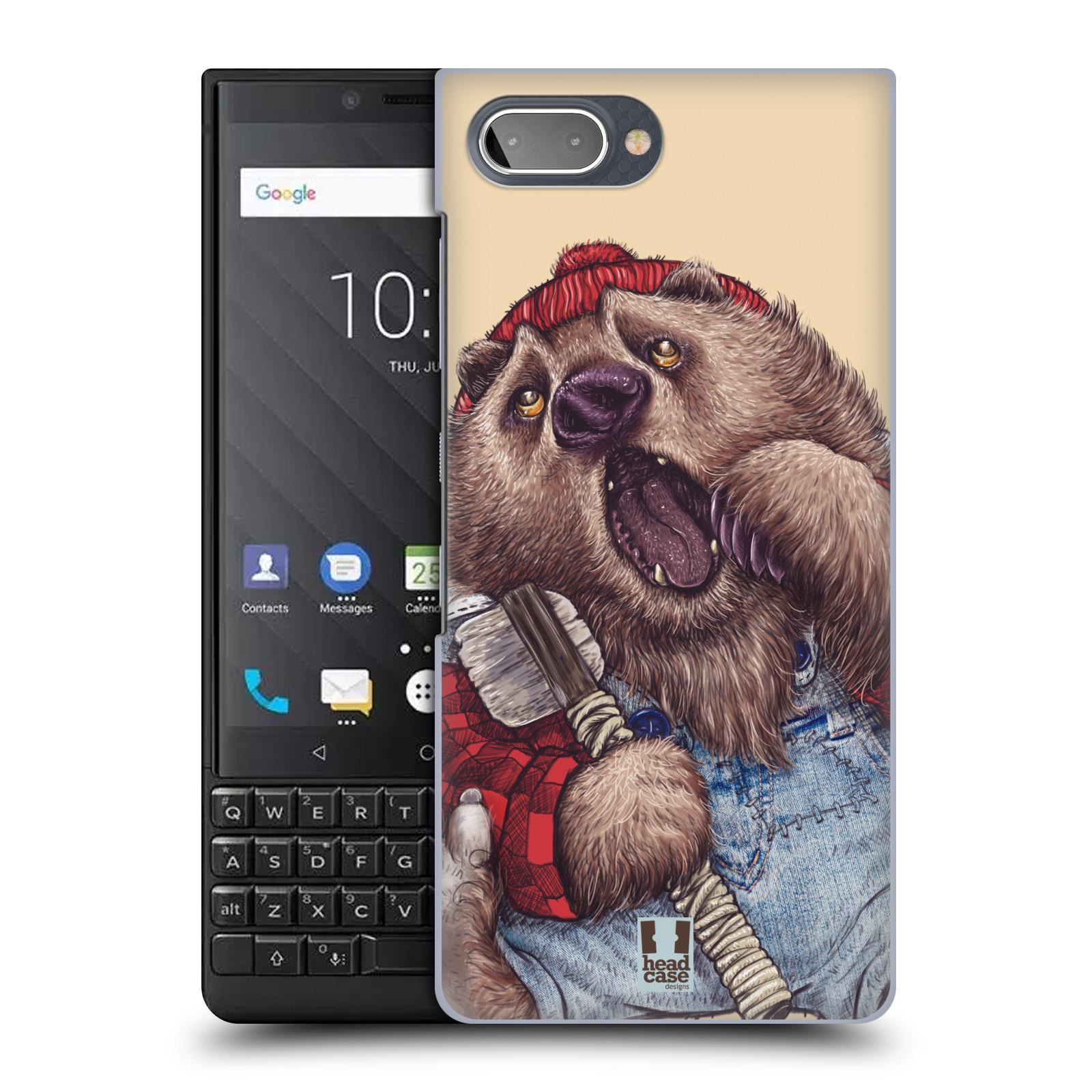 Plastové pouzdro na mobil Blackberry Key 2 - Head Case - ANIMPLA MEDVĚD
