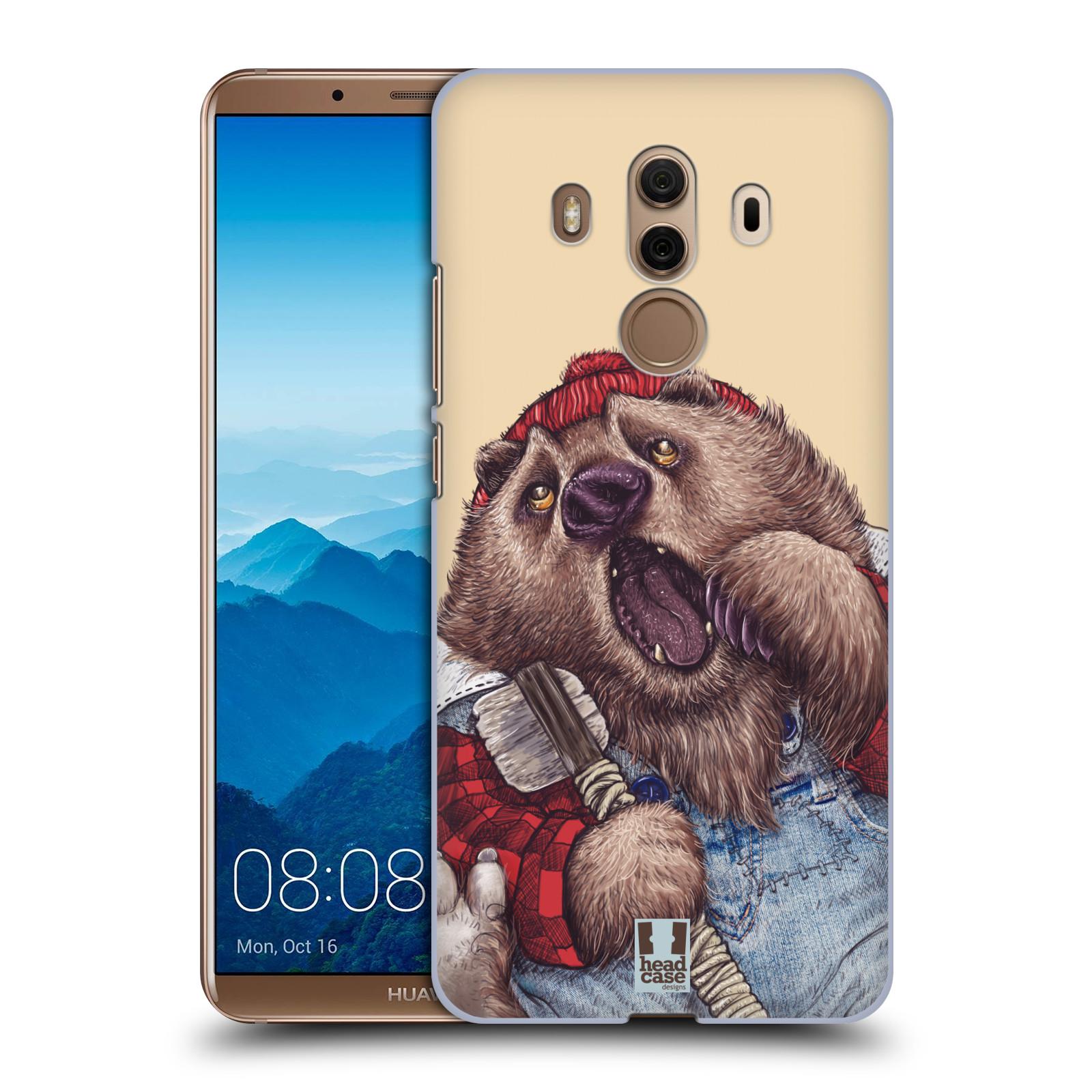 Plastové pouzdro na mobil Huawei Mate 10 Pro - Head Case - ANIMPLA MEDVĚD