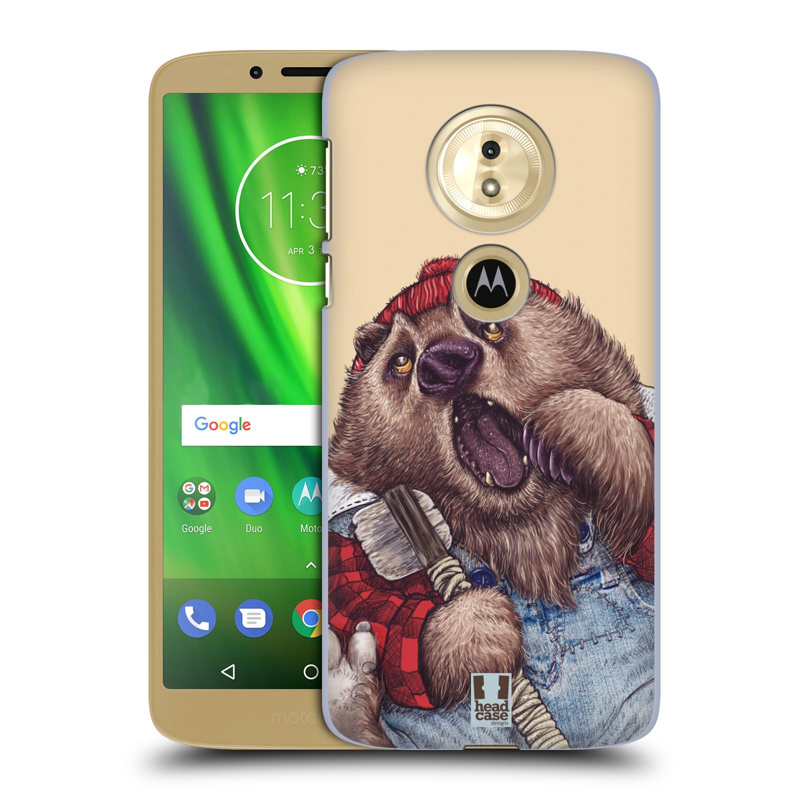 Plastové pouzdro na mobil Motorola Moto G6 Play - Head Case - ANIMPLA MEDVĚD
