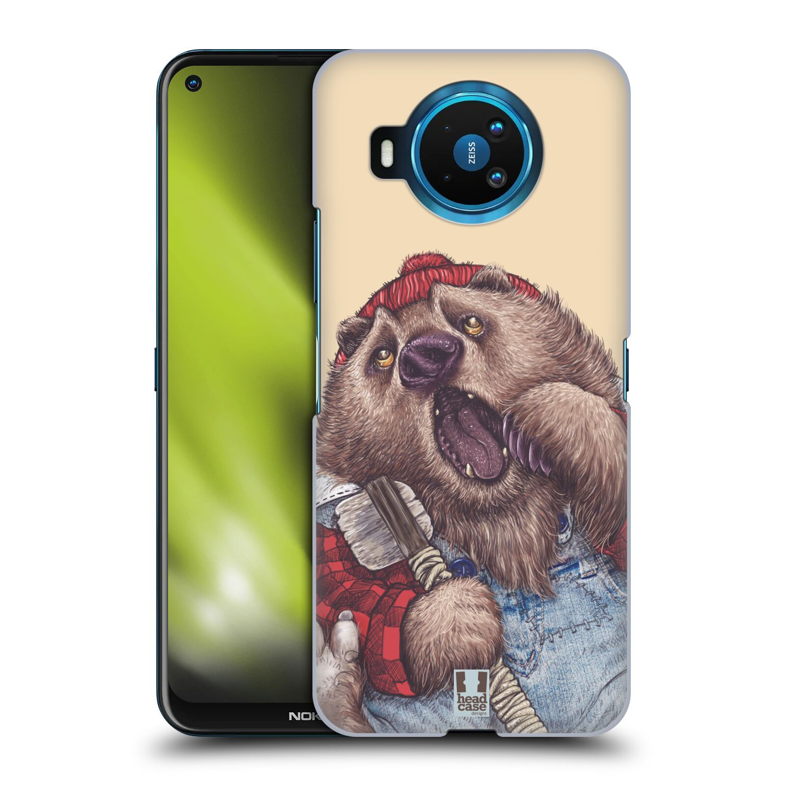 Plastové pouzdro na mobil Nokia 8.3 5G - Head Case - ANIMPLA MEDVĚD