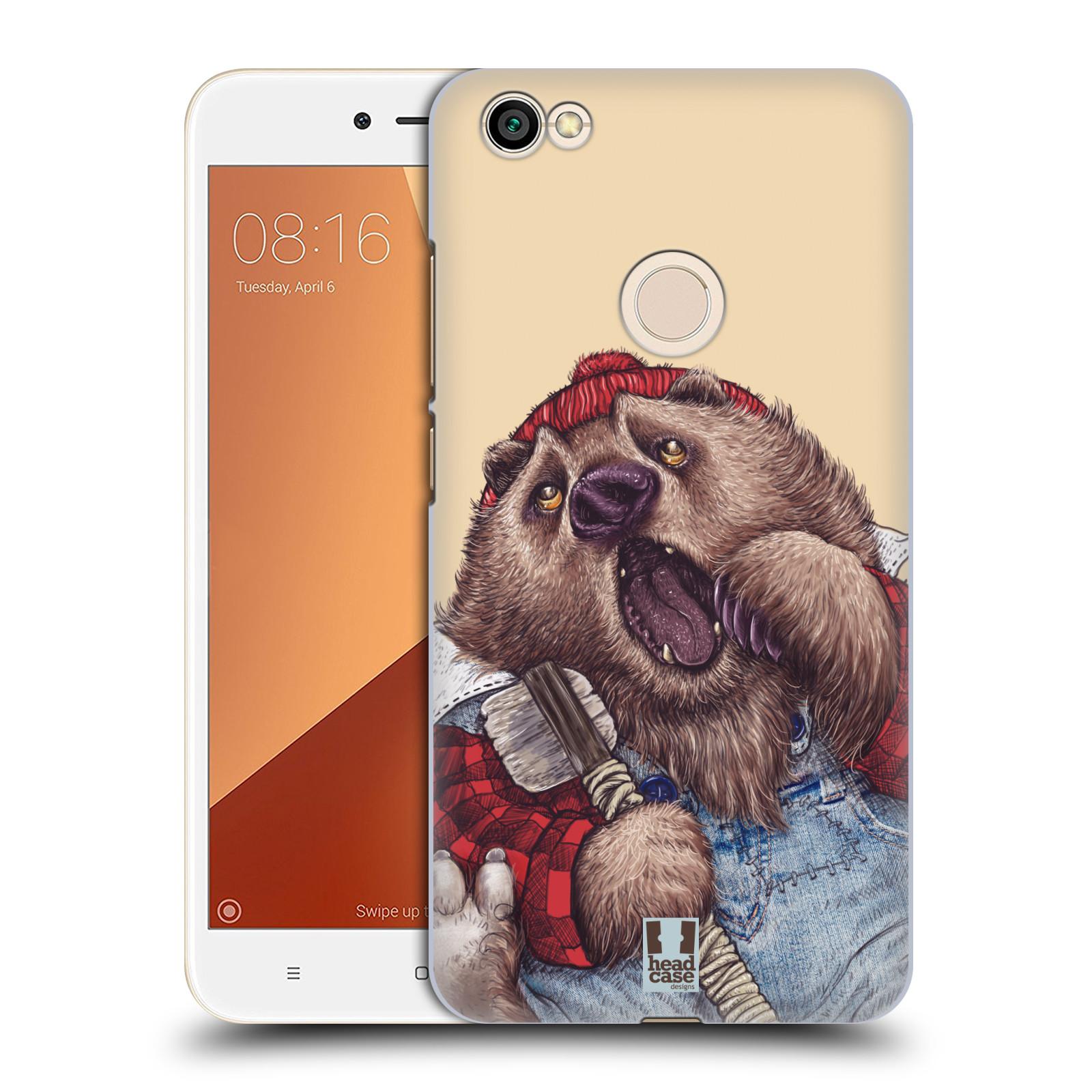 Plastové pouzdro na mobil Xiaomi Redmi Note 5A Prime - Head Case - ANIMPLA MEDVĚD