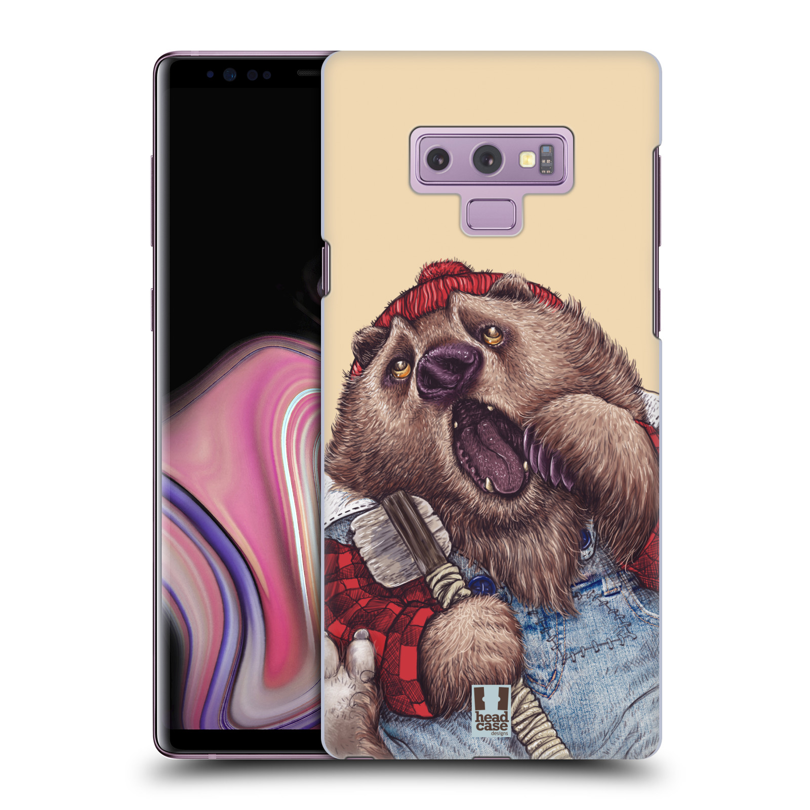 Plastové pouzdro na mobil Samsung Galaxy Note 9 - Head Case - ANIMPLA MEDVĚD