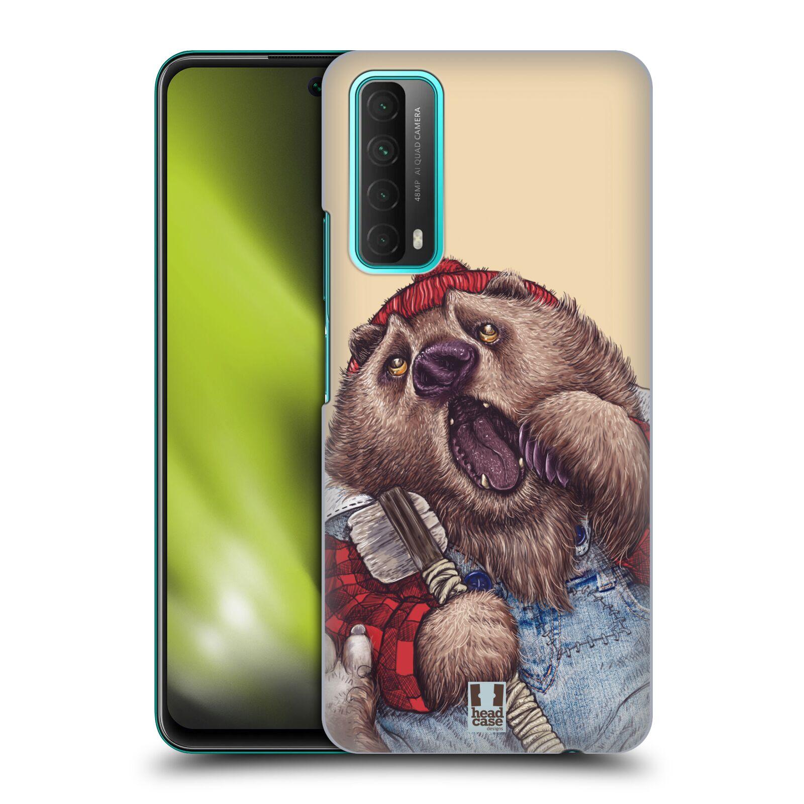 Plastové pouzdro na mobil Huawei P Smart (2021) - Head Case - ANIMPLA MEDVĚD