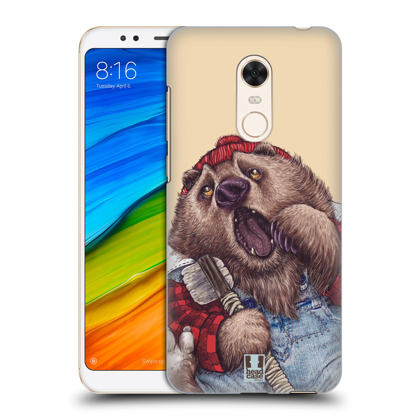 Plastové pouzdro na mobil Xiaomi Redmi 5 Plus - Head Case - ANIMPLA MEDVĚD