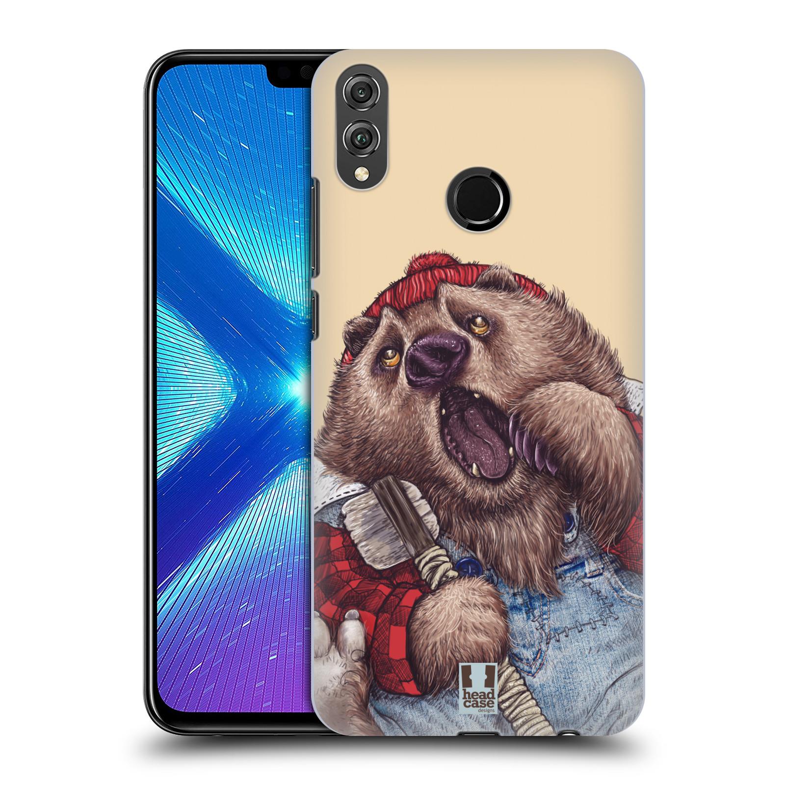 Plastové pouzdro na mobil Honor 8X - Head Case - ANIMPLA MEDVĚD