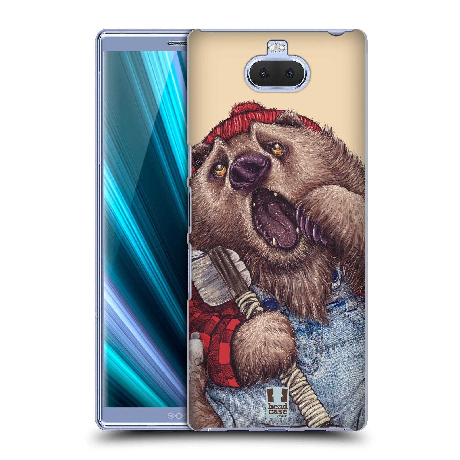 Plastové pouzdro na mobil Sony Xperia 10 - Head Case - ANIMPLA MEDVĚD