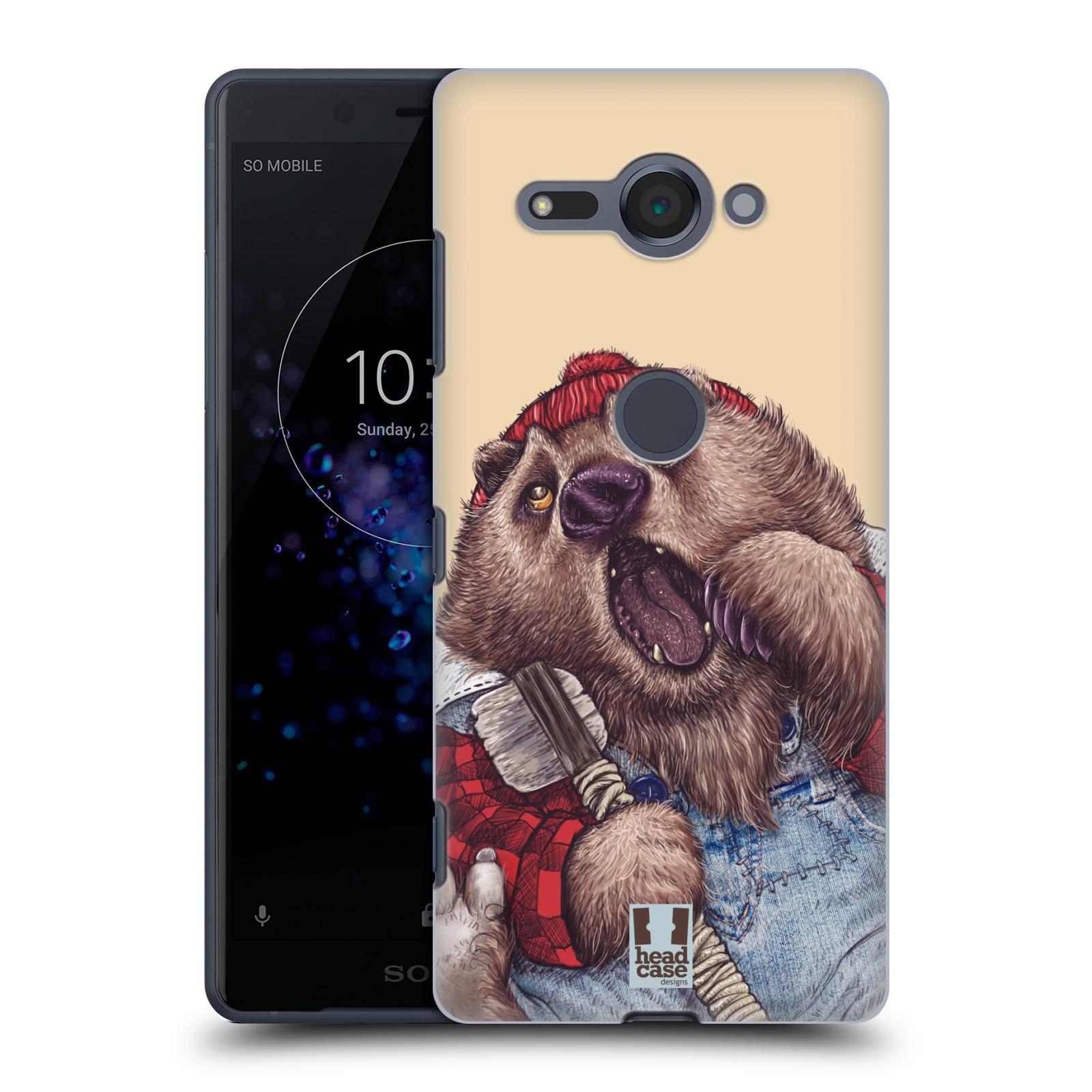 Plastové pouzdro na mobil Sony Xperia XZ2 Compact - Head Case - ANIMPLA MEDVĚD