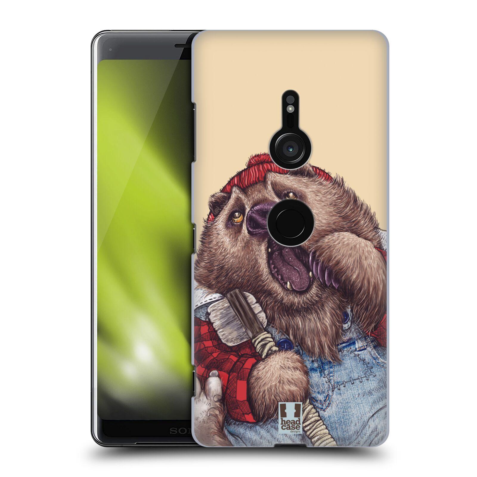 Plastové pouzdro na mobil Sony Xperia XZ3 - Head Case - ANIMPLA MEDVĚD