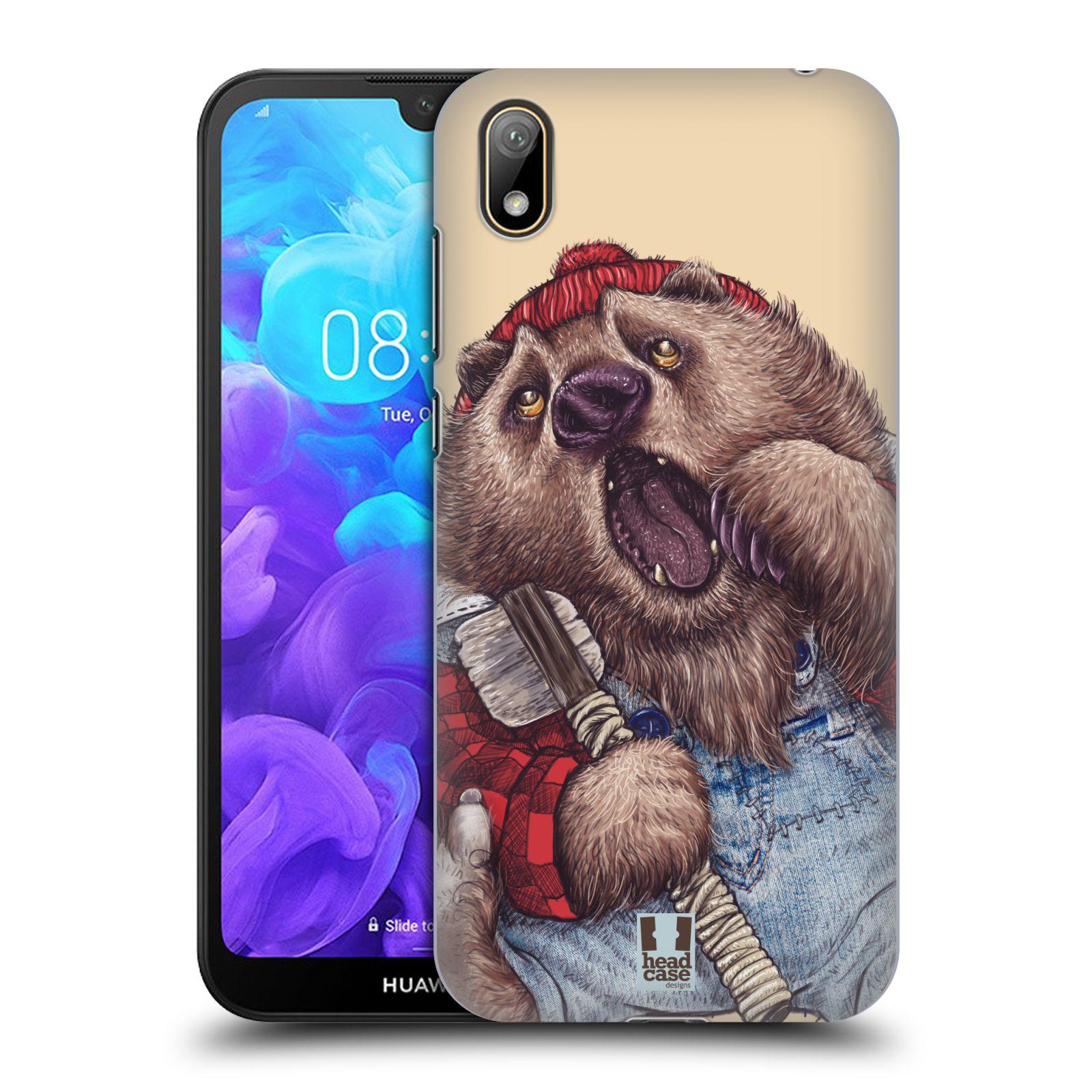 Plastové pouzdro na mobil Honor 8S - Head Case - ANIMPLA MEDVĚD