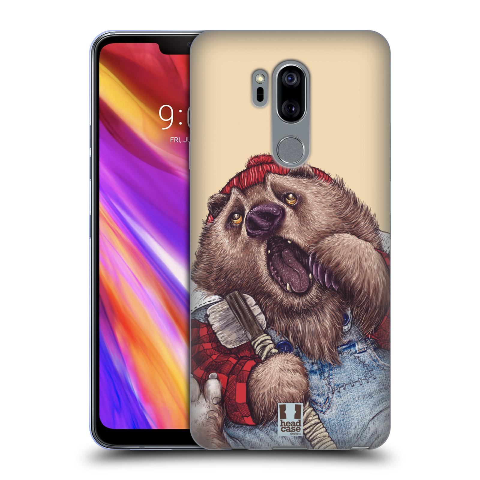 Silikonové pouzdro na mobil LG G7 ThinQ - Head Case - ANIMPLA MEDVĚD