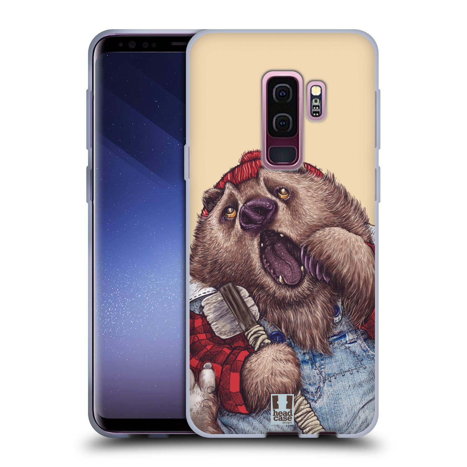 Silikonové pouzdro na mobil Samsung Galaxy S9 Plus - Head Case - ANIMPLA MEDVĚD