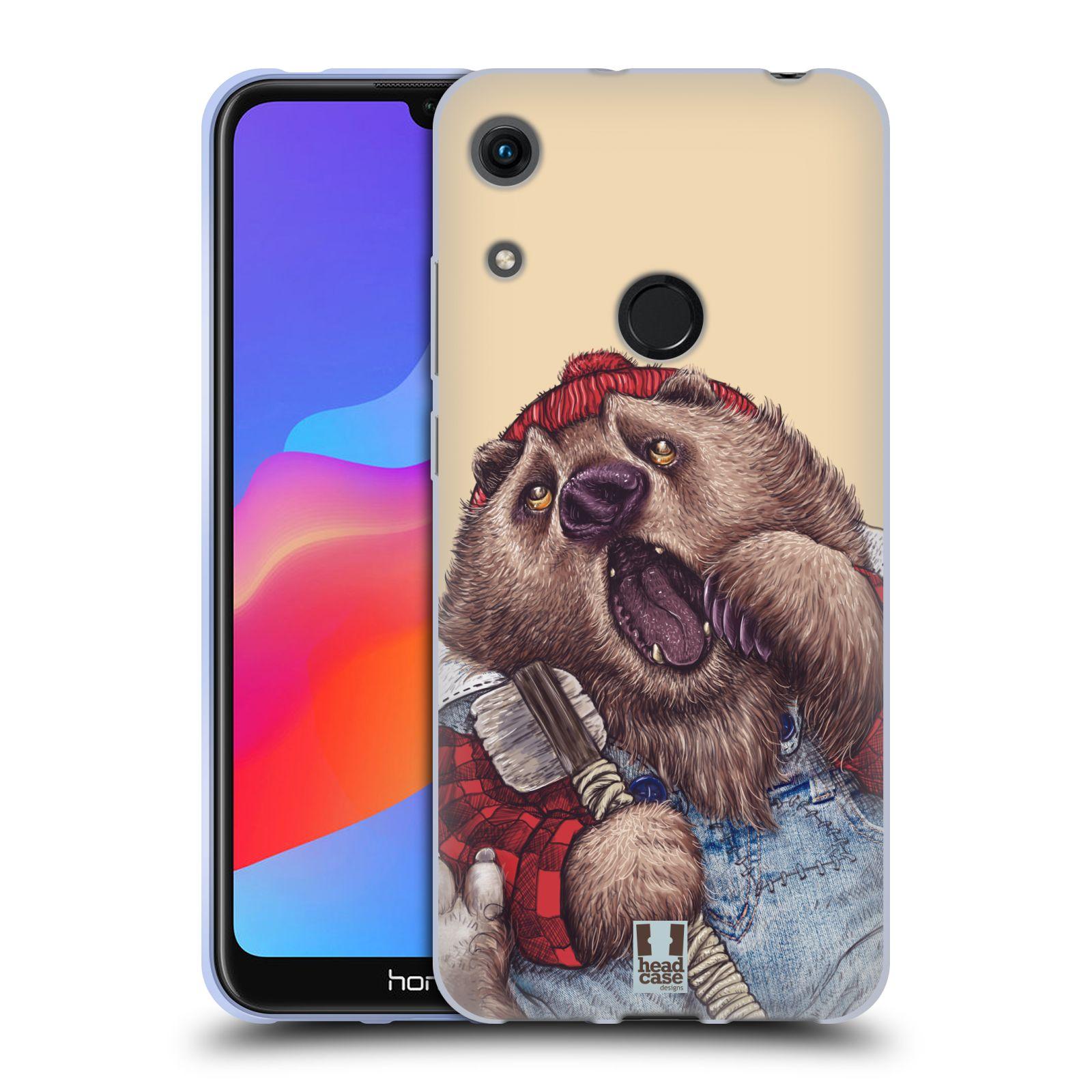 Silikonové pouzdro na mobil Honor 8A - Head Case - ANIMPLA MEDVĚD