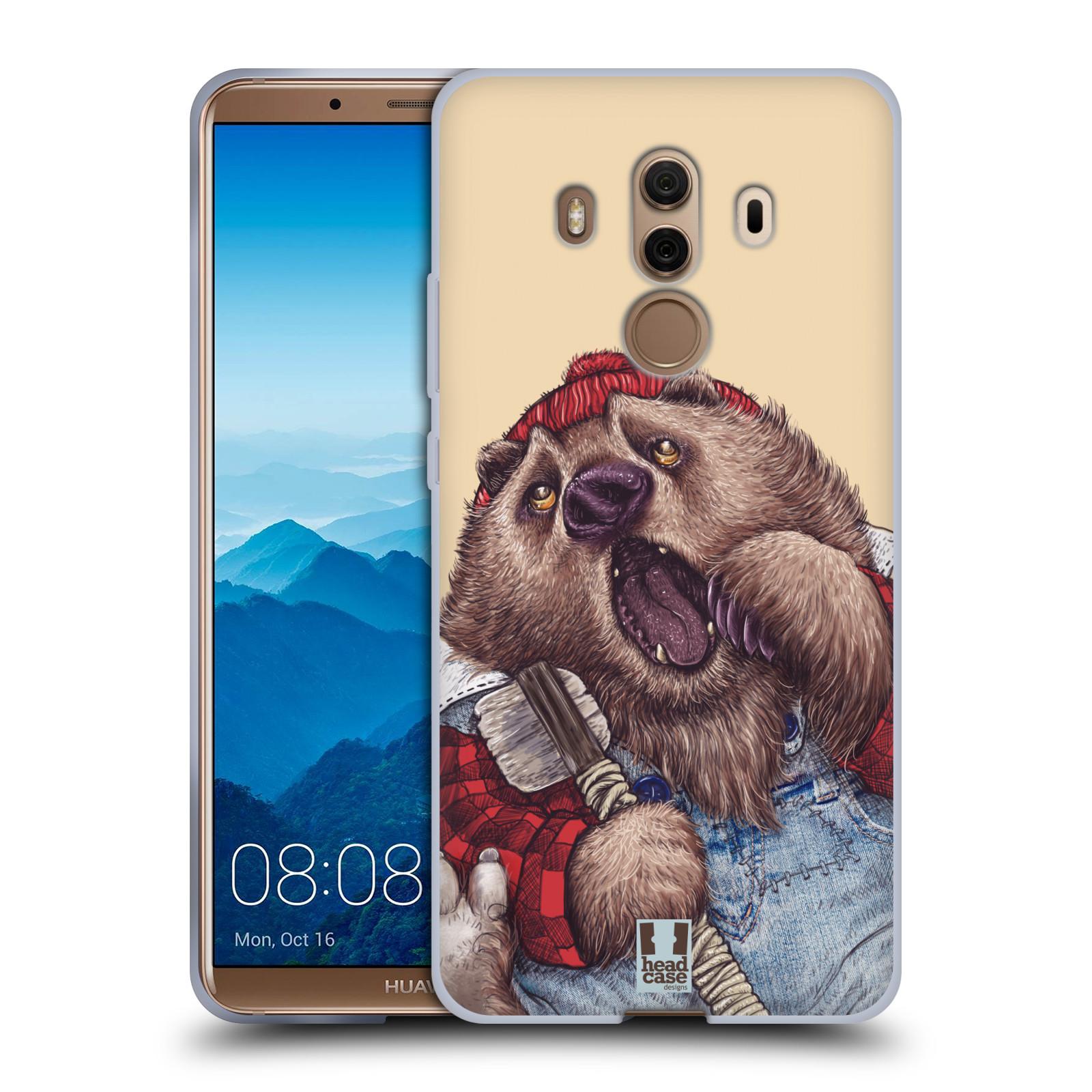 Silikonové pouzdro na mobil Huawei Mate 10 Pro - Head Case - ANIMPLA MEDVĚD