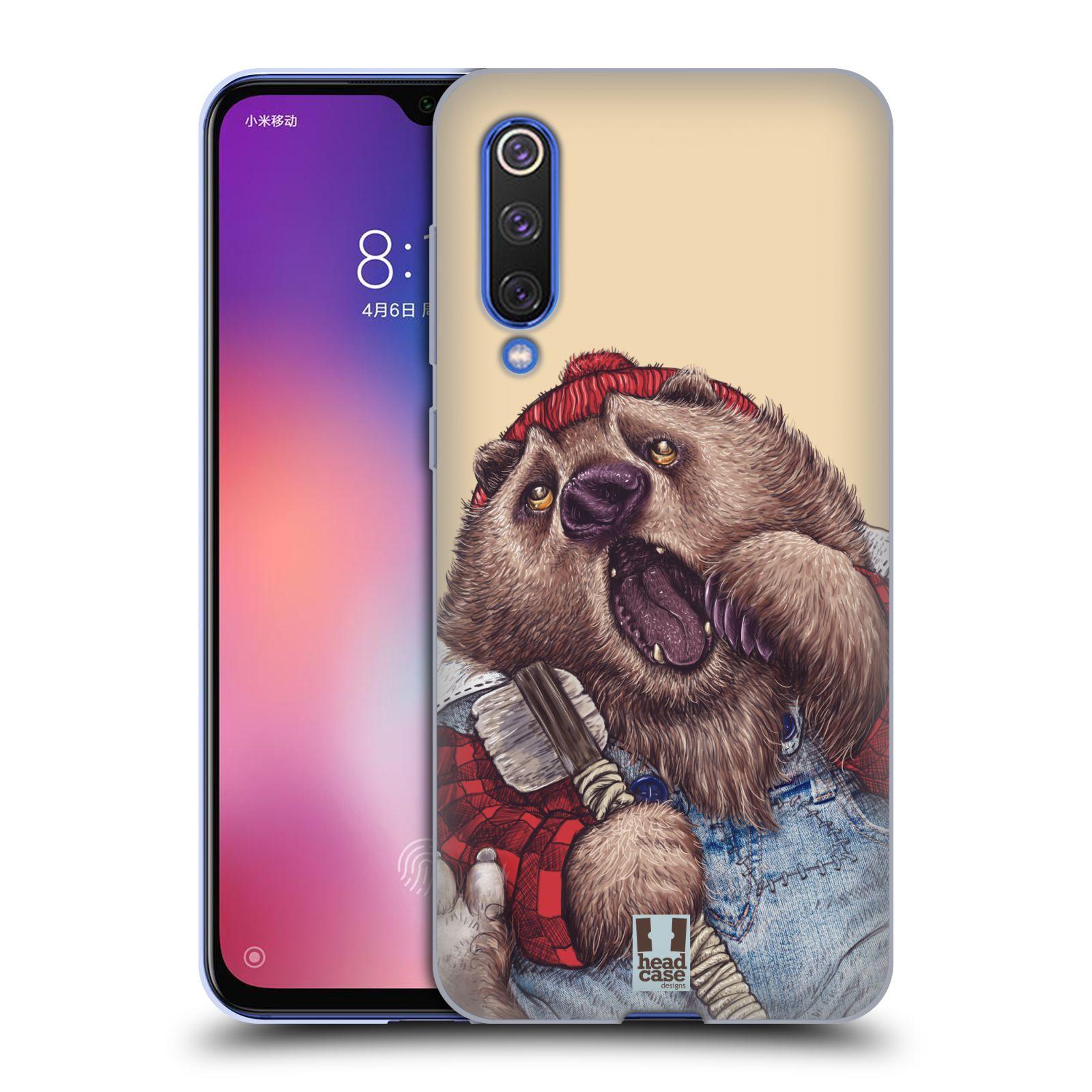 Silikonové pouzdro na mobil Xiaomi Mi 9 SE - Head Case - ANIMPLA MEDVĚD