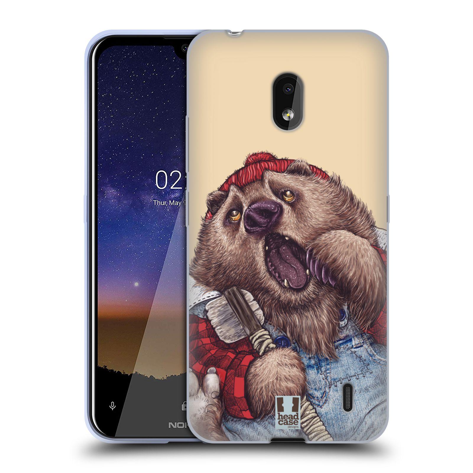 Silikonové pouzdro na mobil Nokia 2.2 - Head Case - ANIMPLA MEDVĚD