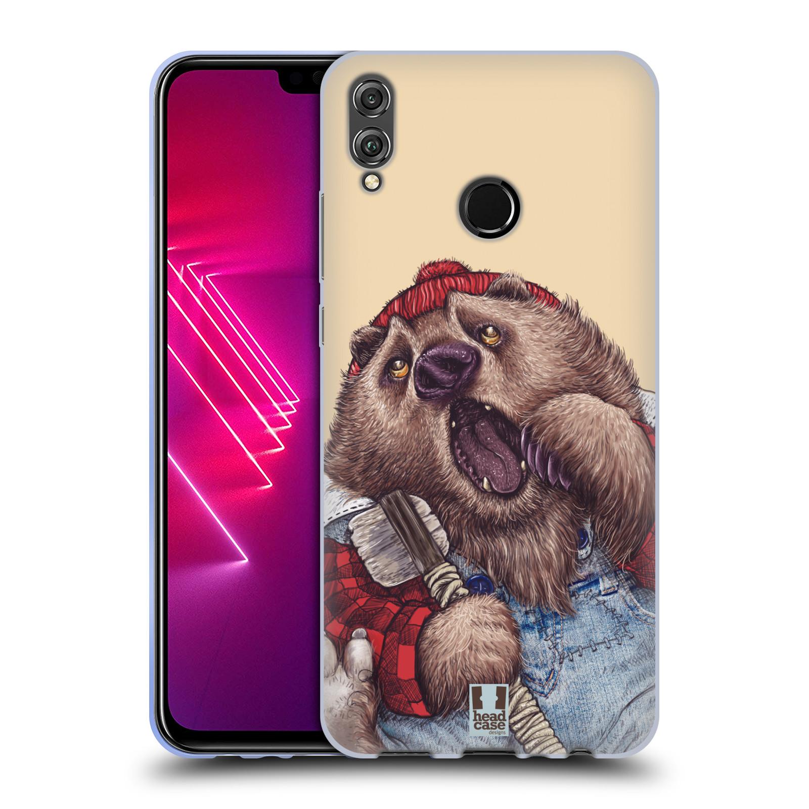 Silikonové pouzdro na mobil Honor View 10 Lite - Head Case - ANIMPLA MEDVĚD