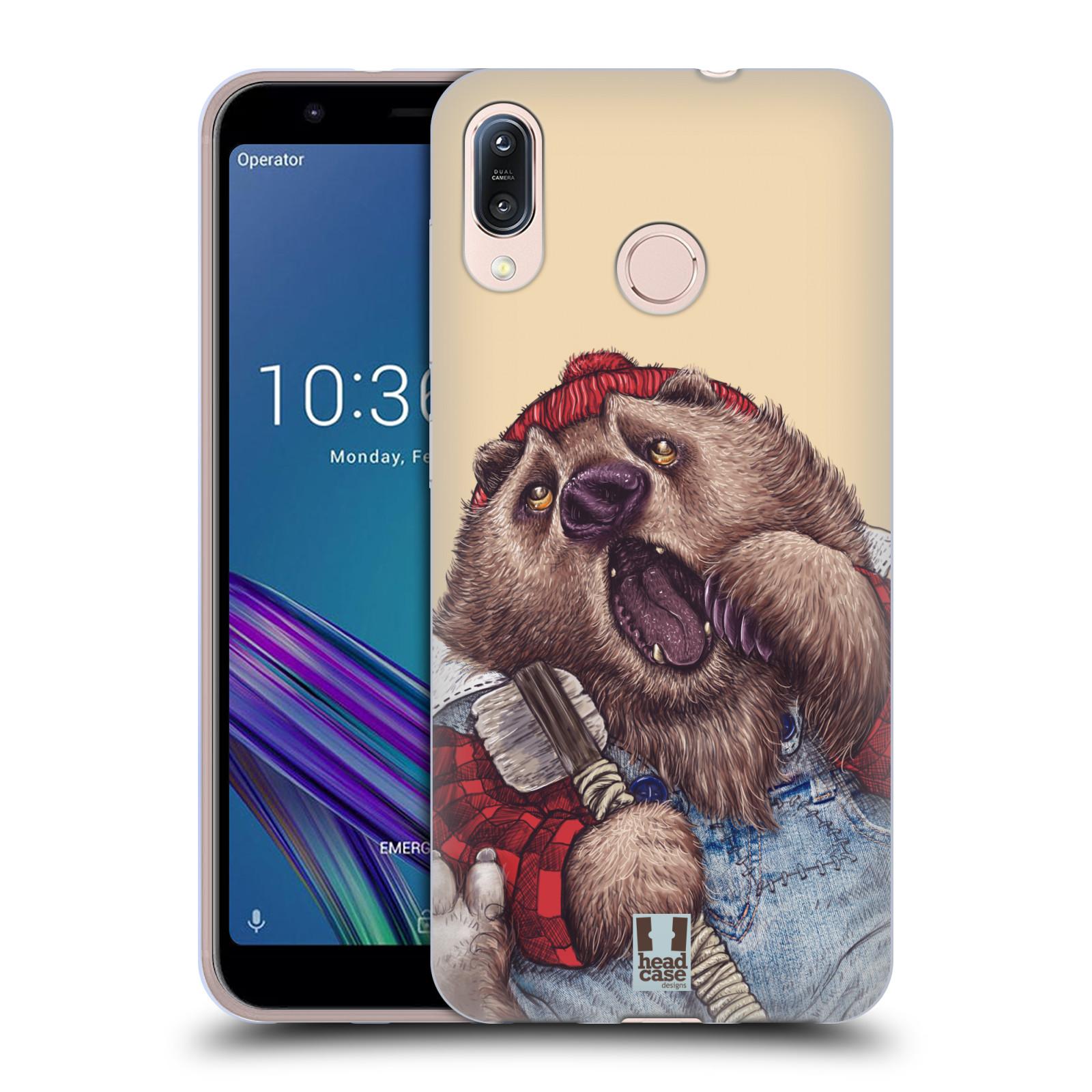 Silikonové pouzdro na mobil Asus Zenfone Max M1 ZB555KL - Head Case - ANIMPLA MEDVĚD