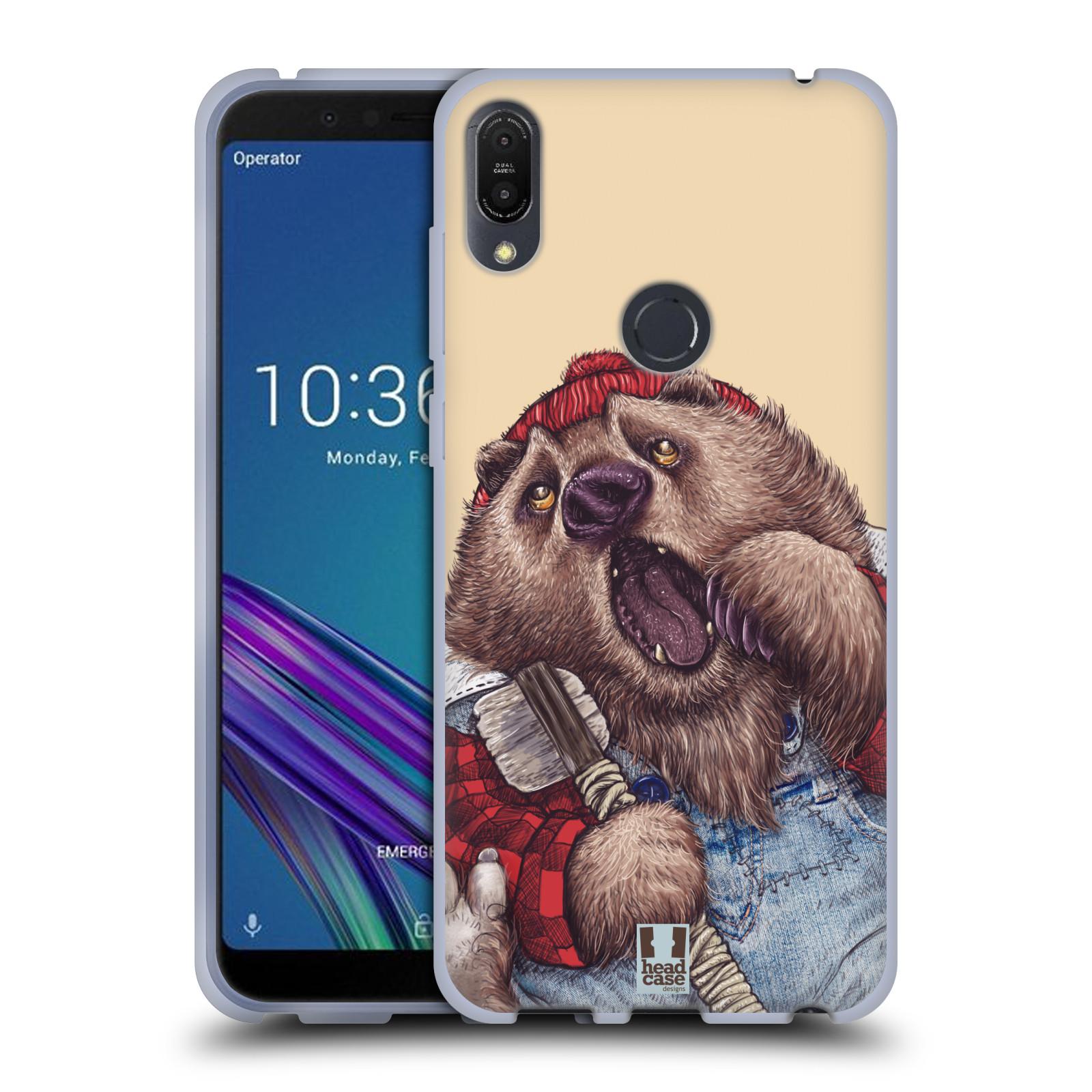 Silikonové pouzdro na mobil Asus ZenFone Max Pro (M1) - Head Case - ANIMPLA MEDVĚD