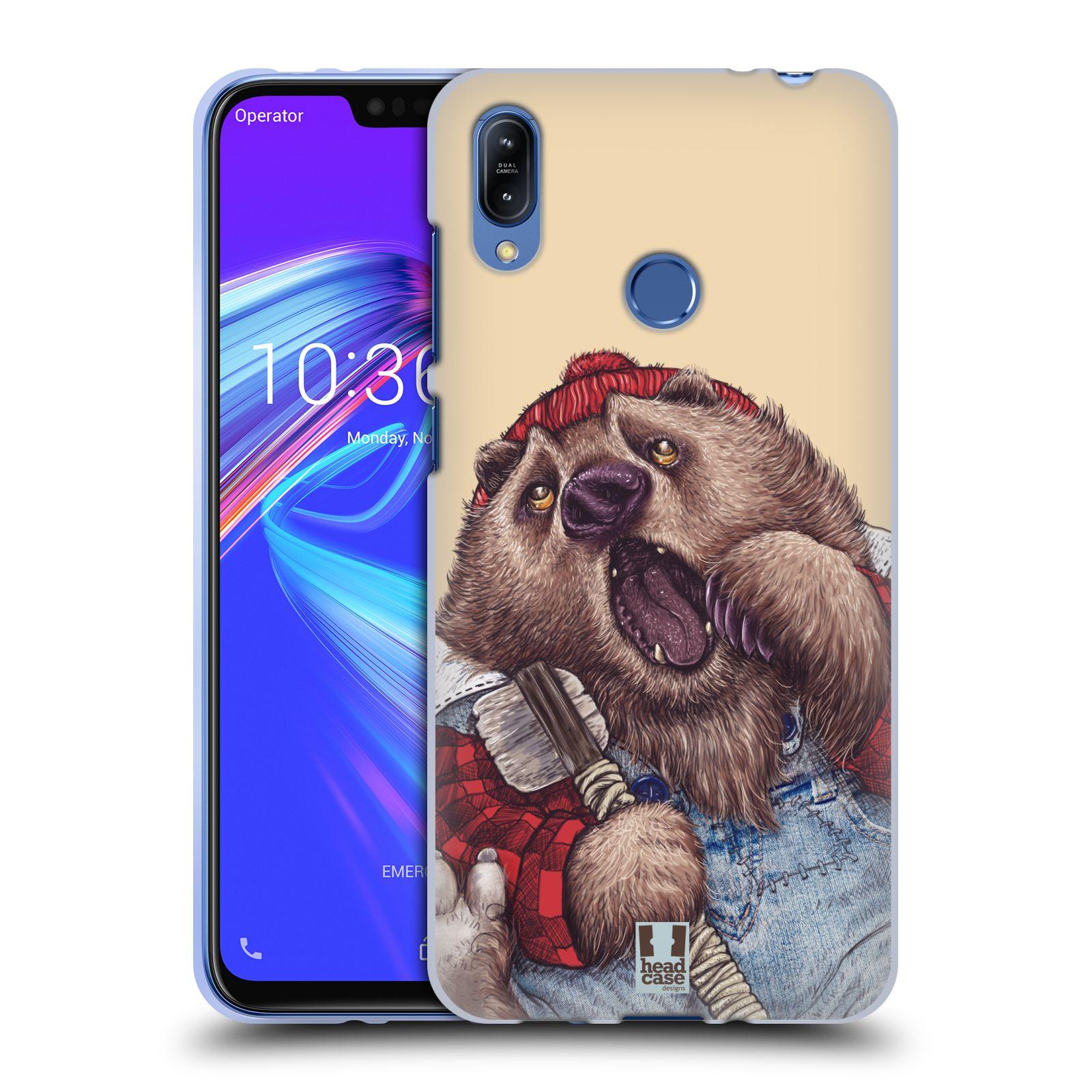 Silikonové pouzdro na mobil Asus Zenfone Max (M2) ZB633KL - Head Case - ANIMPLA MEDVĚD