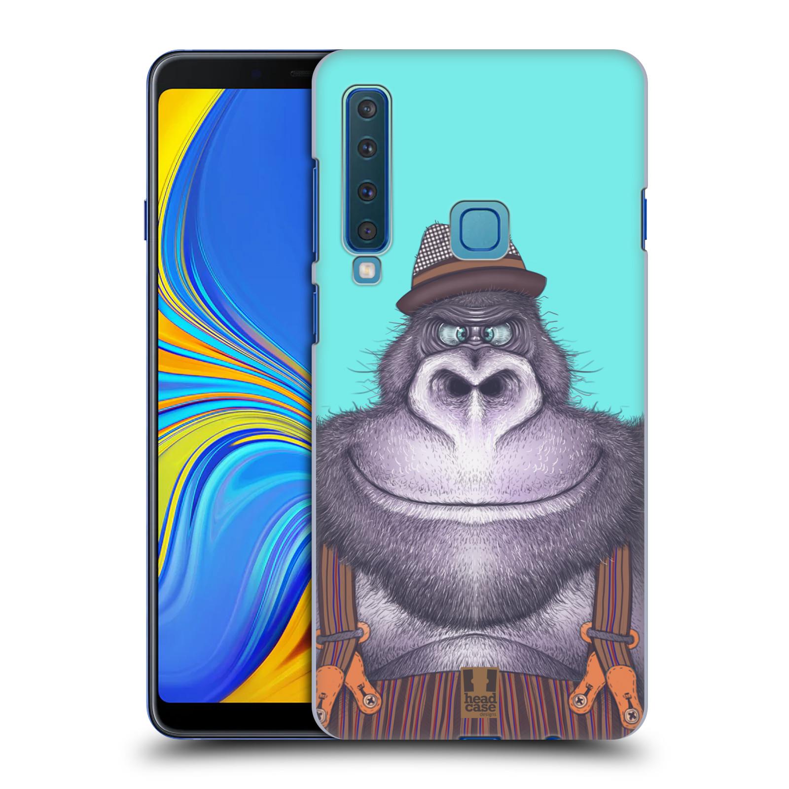 Plastové pouzdro na mobil Samsung Galaxy A9 (2018) - Head Case - ANIMPLA GORILÁK
