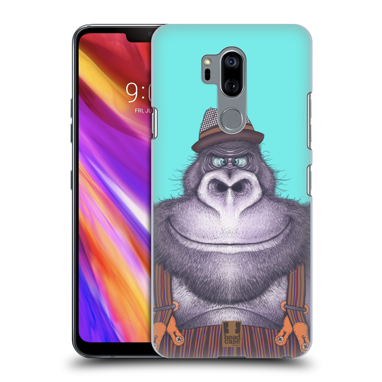 Plastové pouzdro na mobil LG G7 ThinQ - Head Case - ANIMPLA GORILÁK