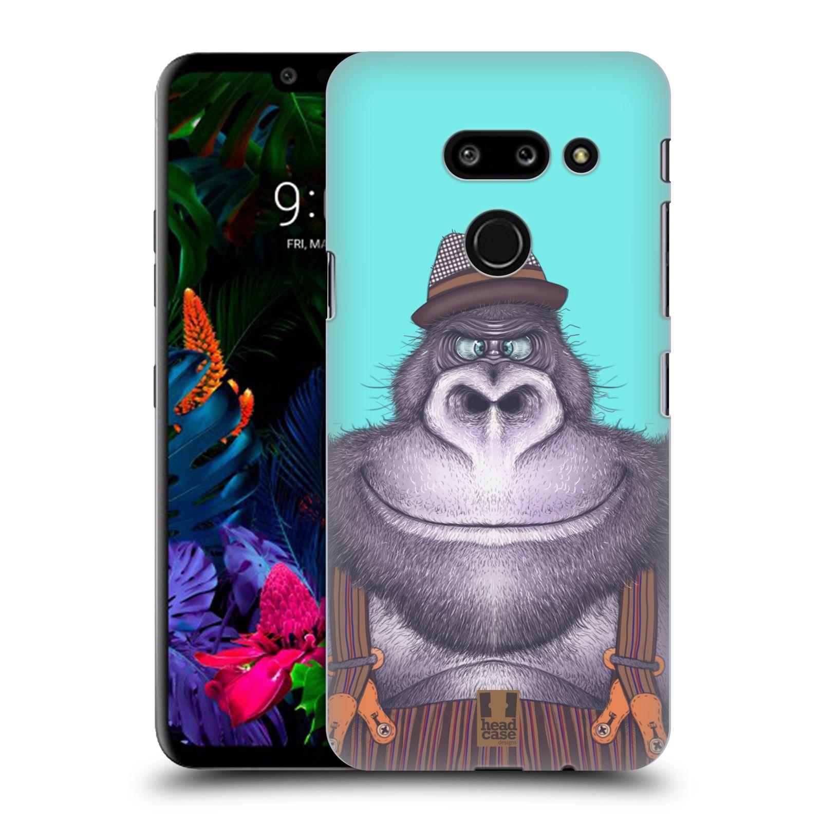 Plastové pouzdro na mobil LG G8 ThinQ - Head Case - ANIMPLA GORILÁK