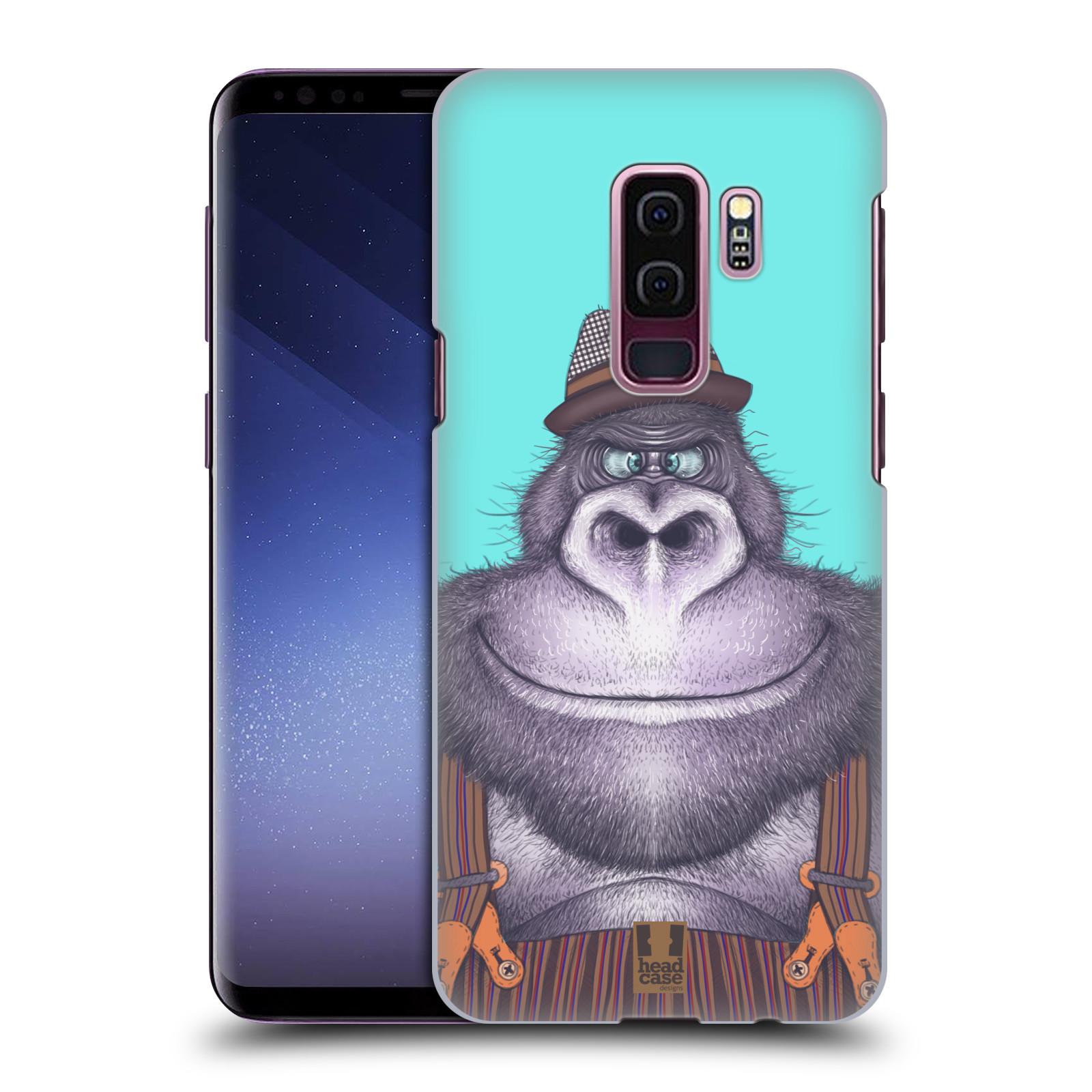 Plastové pouzdro na mobil Samsung Galaxy S9 Plus - Head Case - ANIMPLA GORILÁK