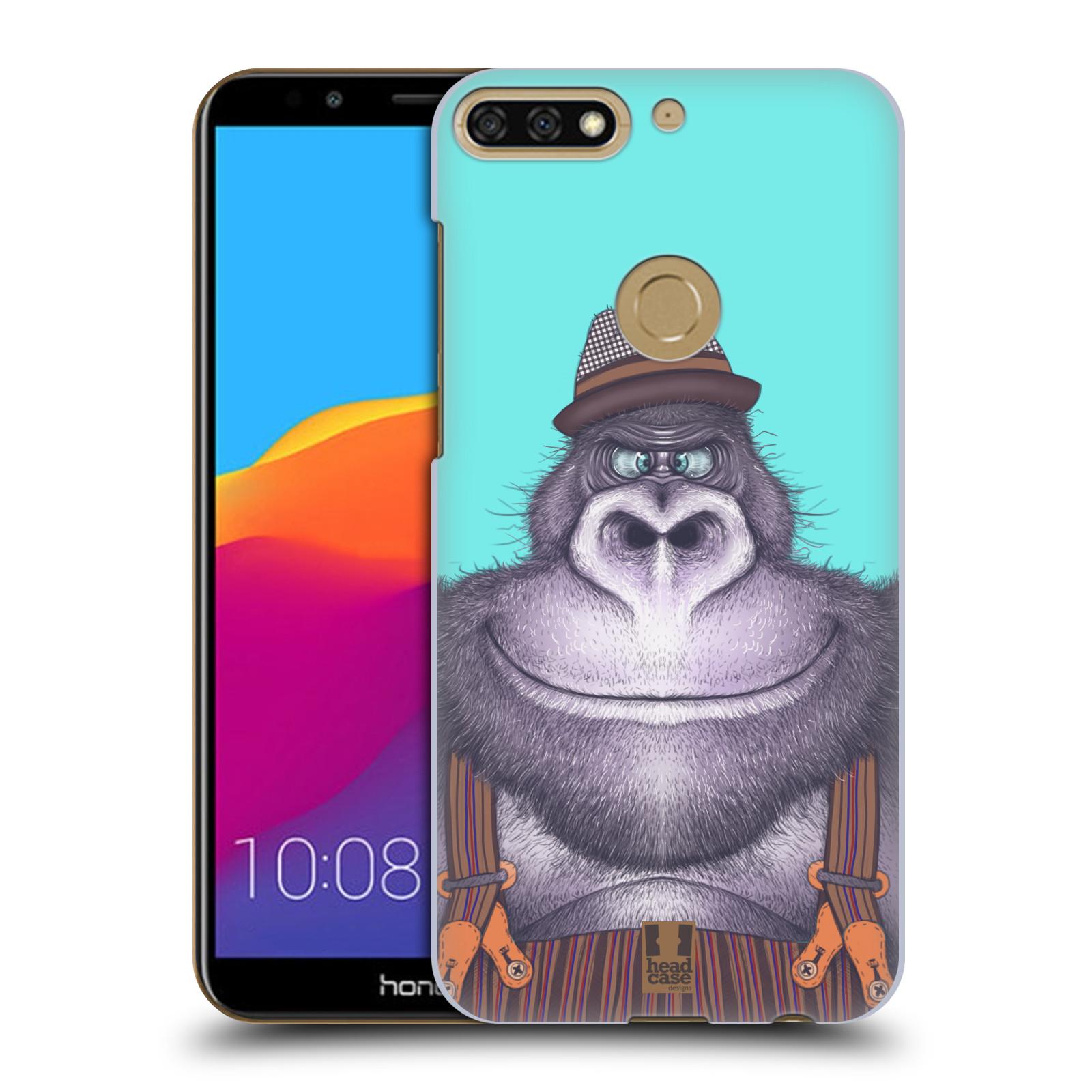 Plastové pouzdro na mobil Huawei Y7 Prime 2018 - Head Case - ANIMPLA GORILÁK