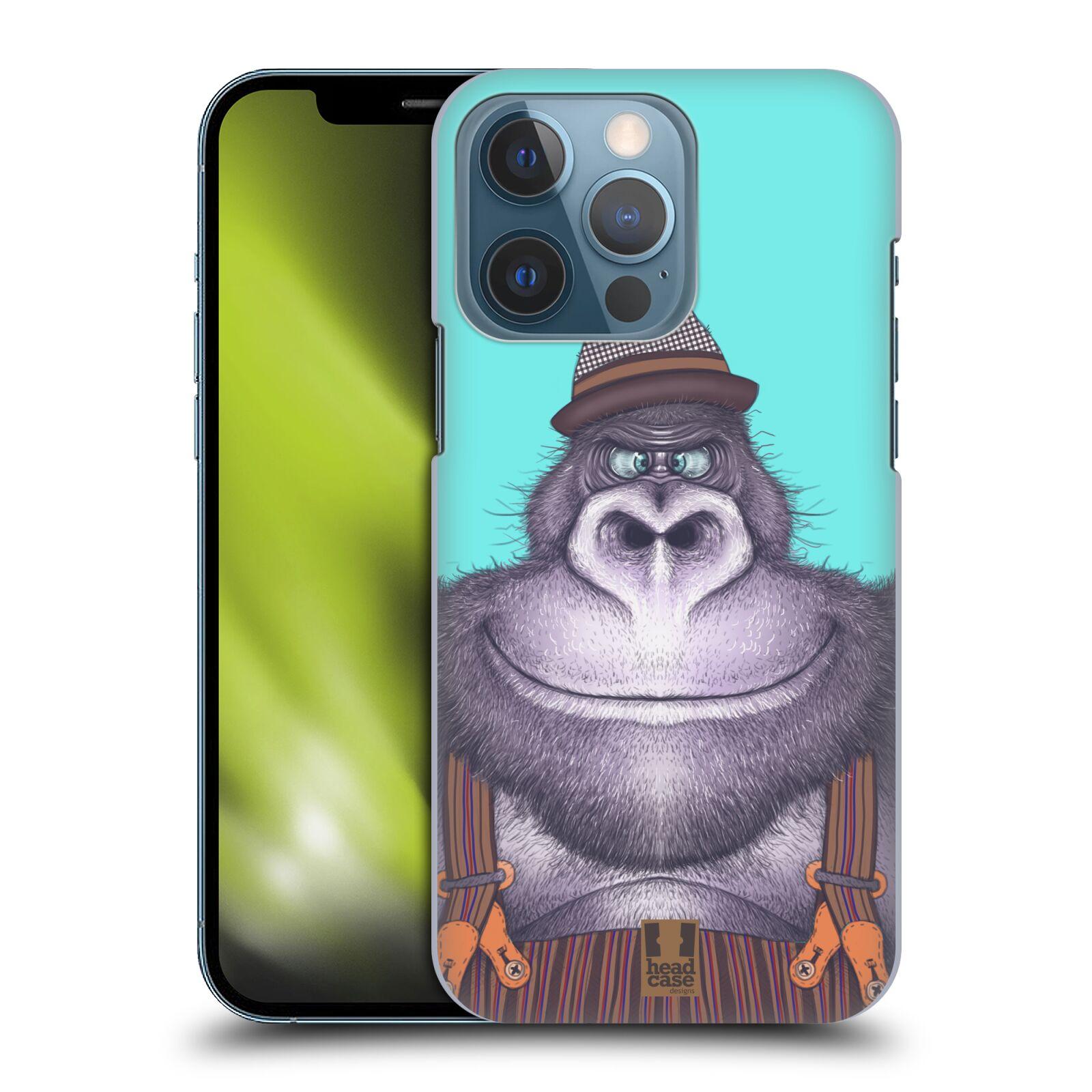 Plastové pouzdro na mobil Apple iPhone 13 Pro - Head Case - ANIMPLA GORILÁK