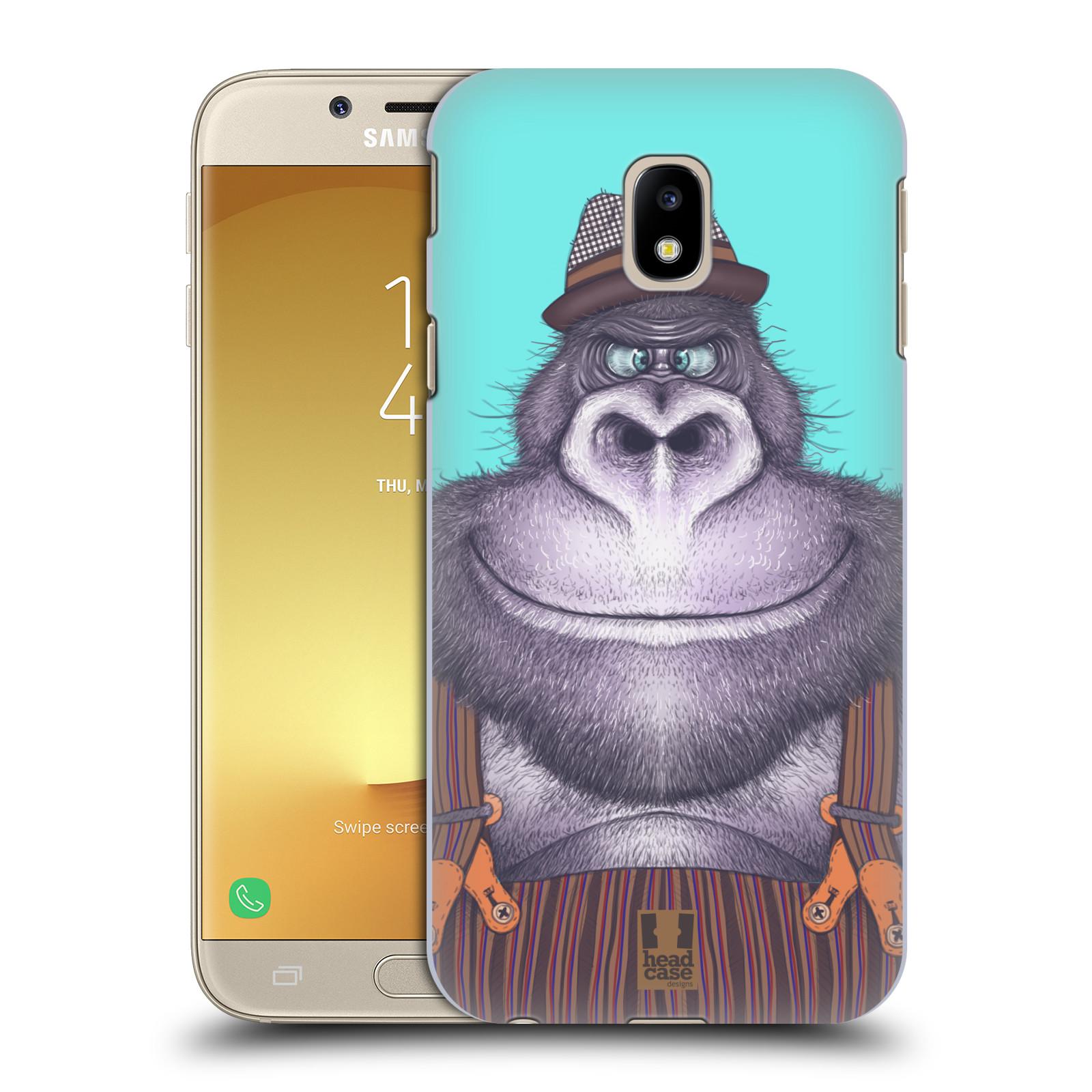 Plastové pouzdro na mobil Samsung Galaxy J3 (2017) - Head Case - ANIMPLA GORILÁK