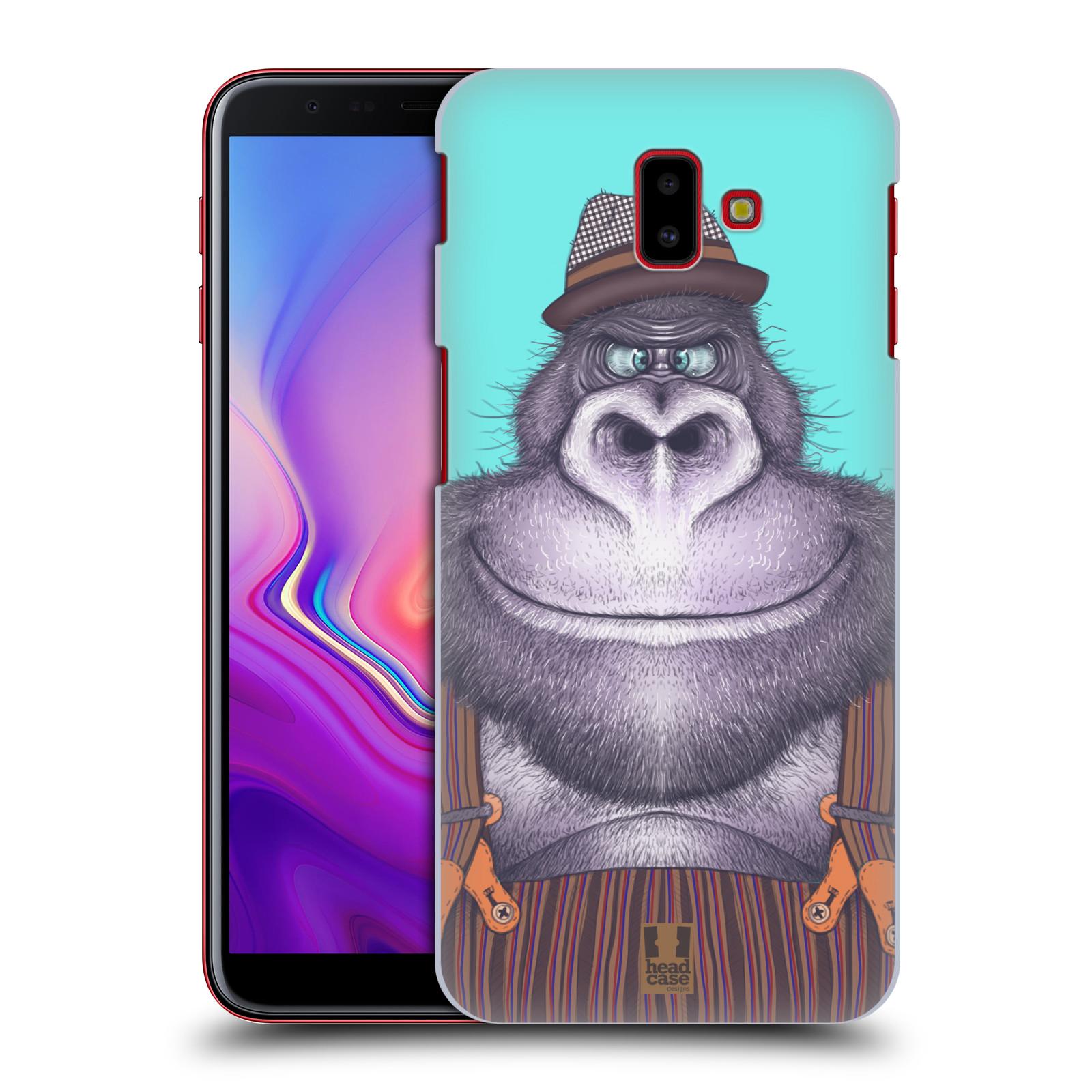 Plastové pouzdro na mobil Samsung Galaxy J6 Plus - Head Case - ANIMPLA GORILÁK