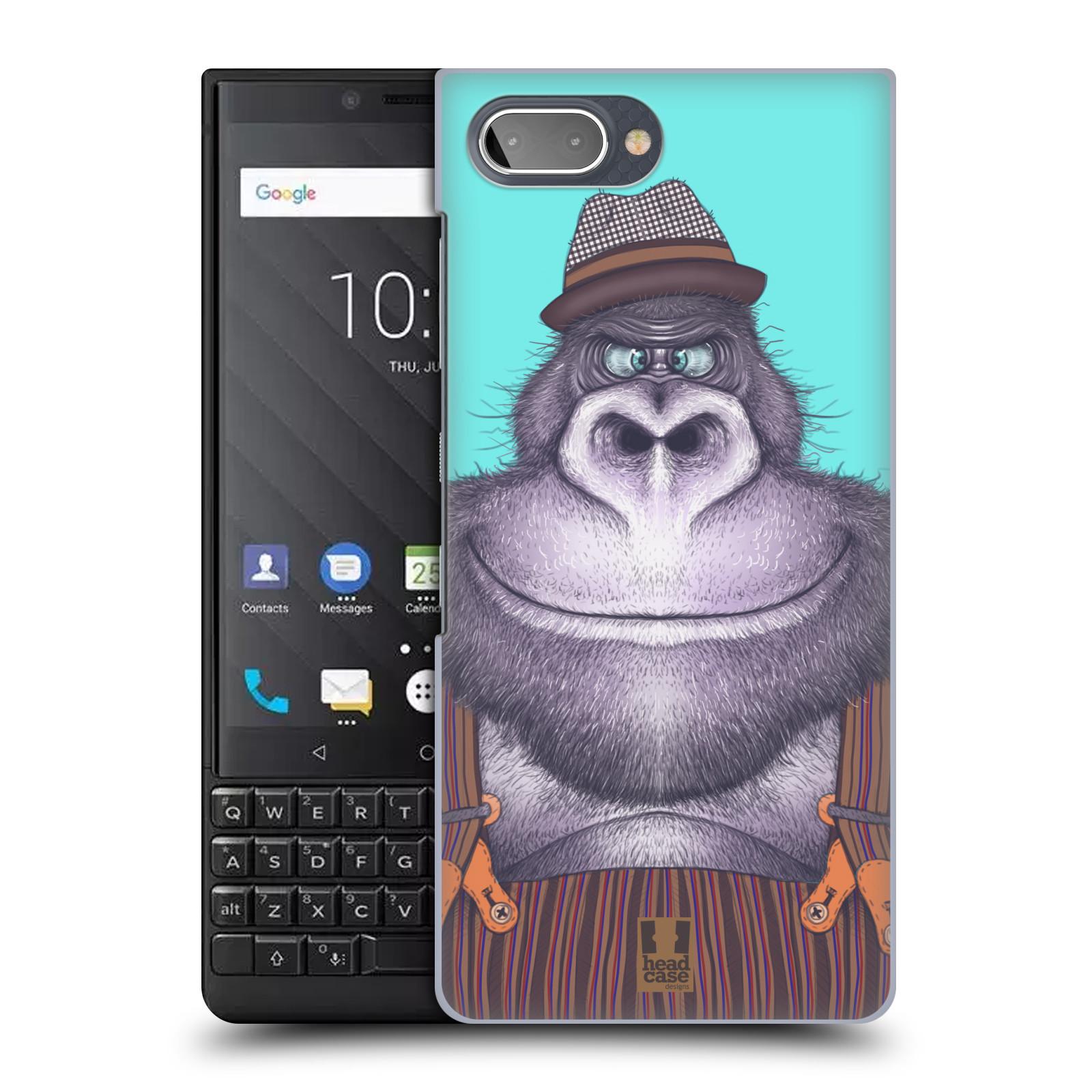 Plastové pouzdro na mobil Blackberry Key 2 - Head Case - ANIMPLA GORILÁK