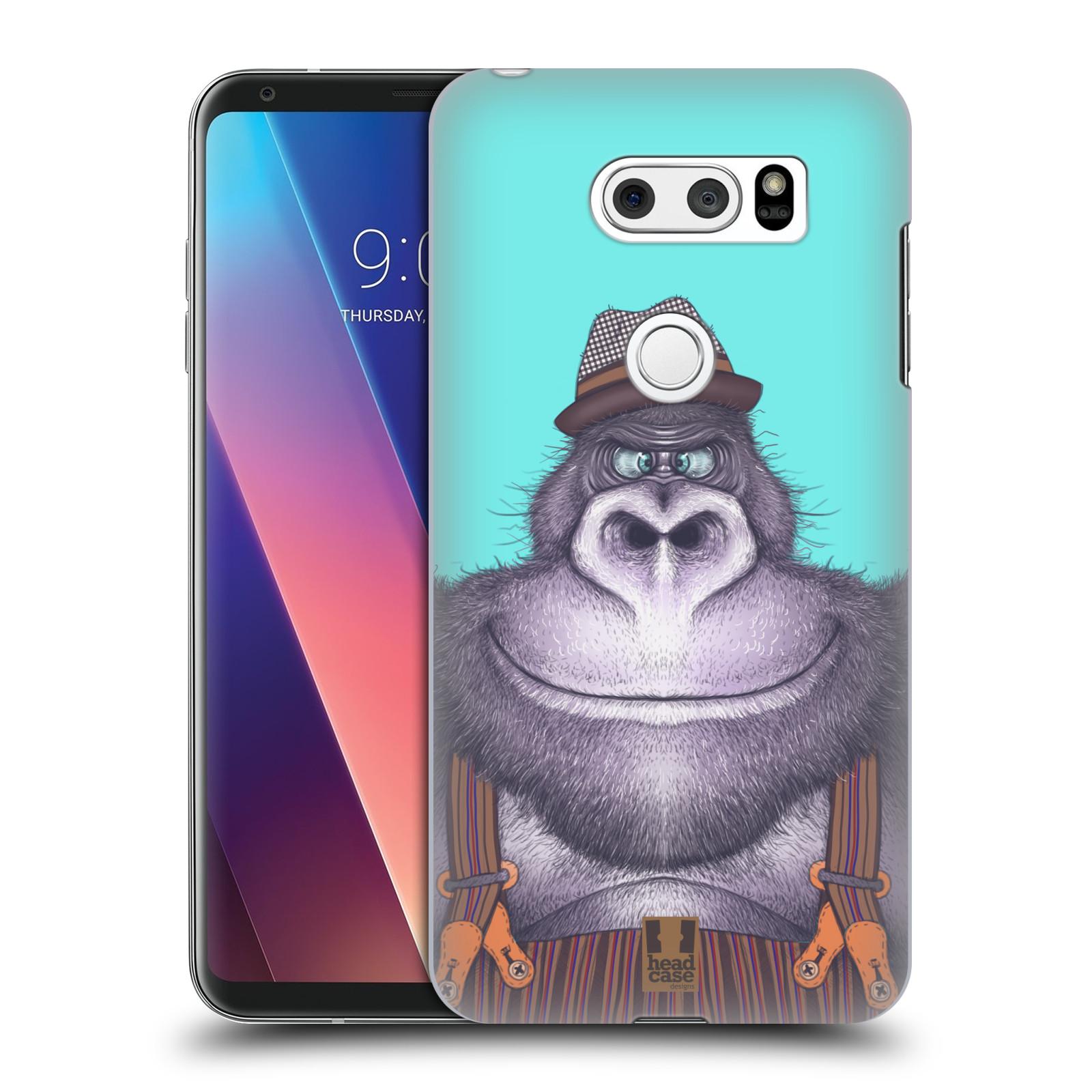 Plastové pouzdro na mobil LG V30 - Head Case - ANIMPLA GORILÁK