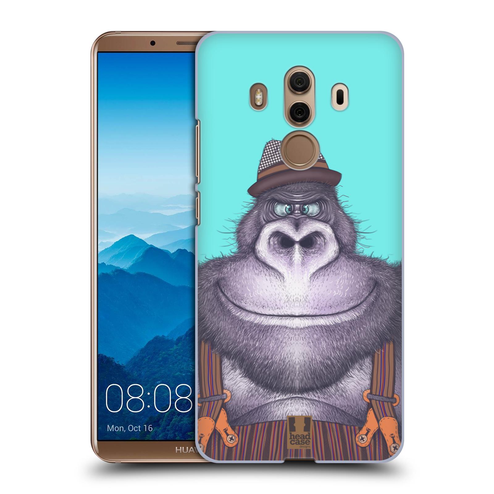 Plastové pouzdro na mobil Huawei Mate 10 Pro - Head Case - ANIMPLA GORILÁK