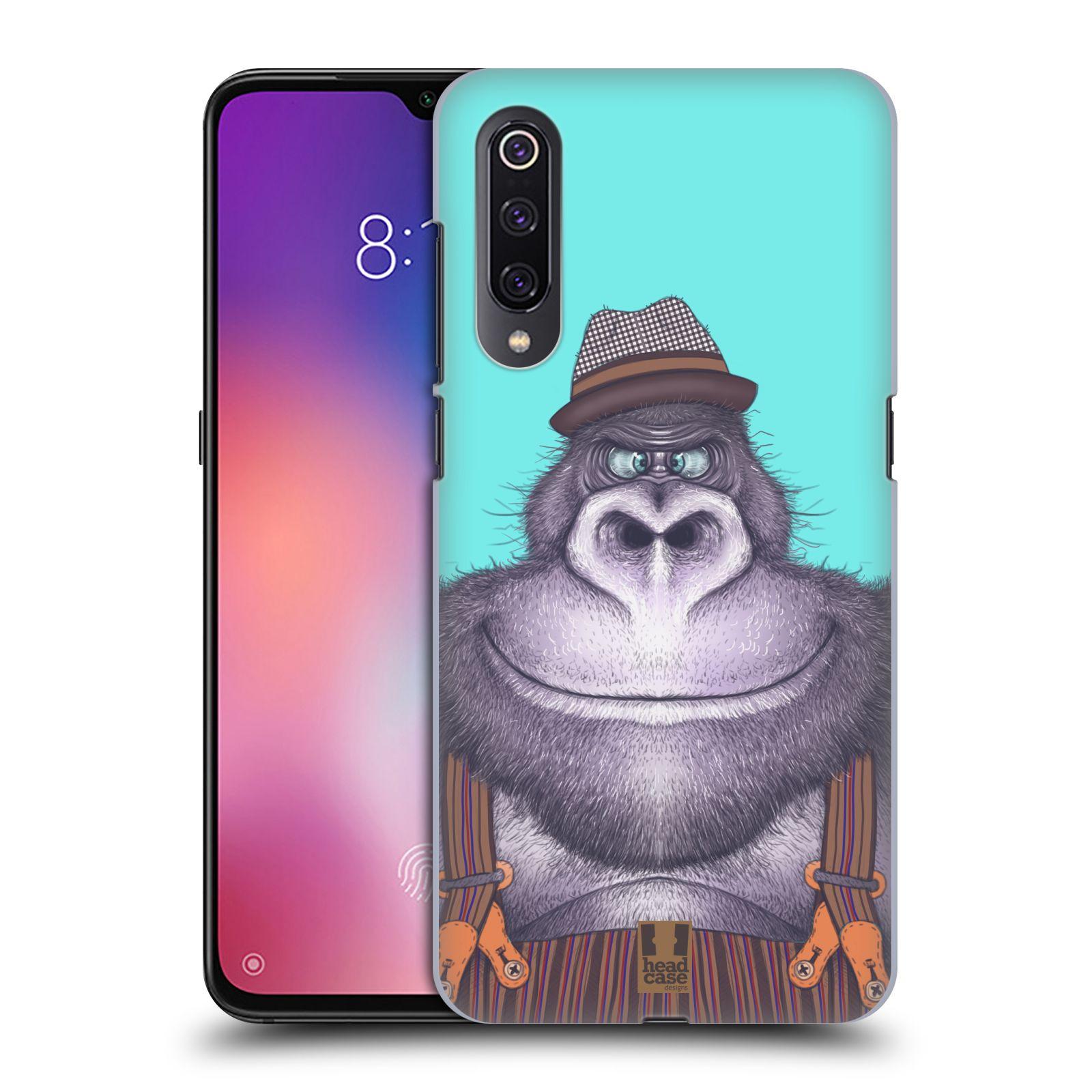 Plastové pouzdro na mobil Xiaomi Mi 9 - Head Case - ANIMPLA GORILÁK