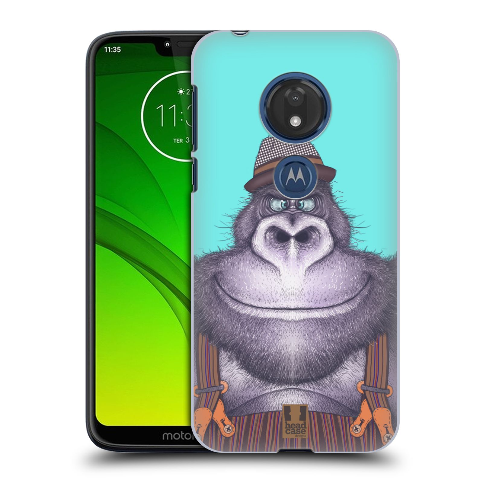 Plastové pouzdro na mobil Motorola Moto G7 Play - Head Case - ANIMPLA GORILÁK