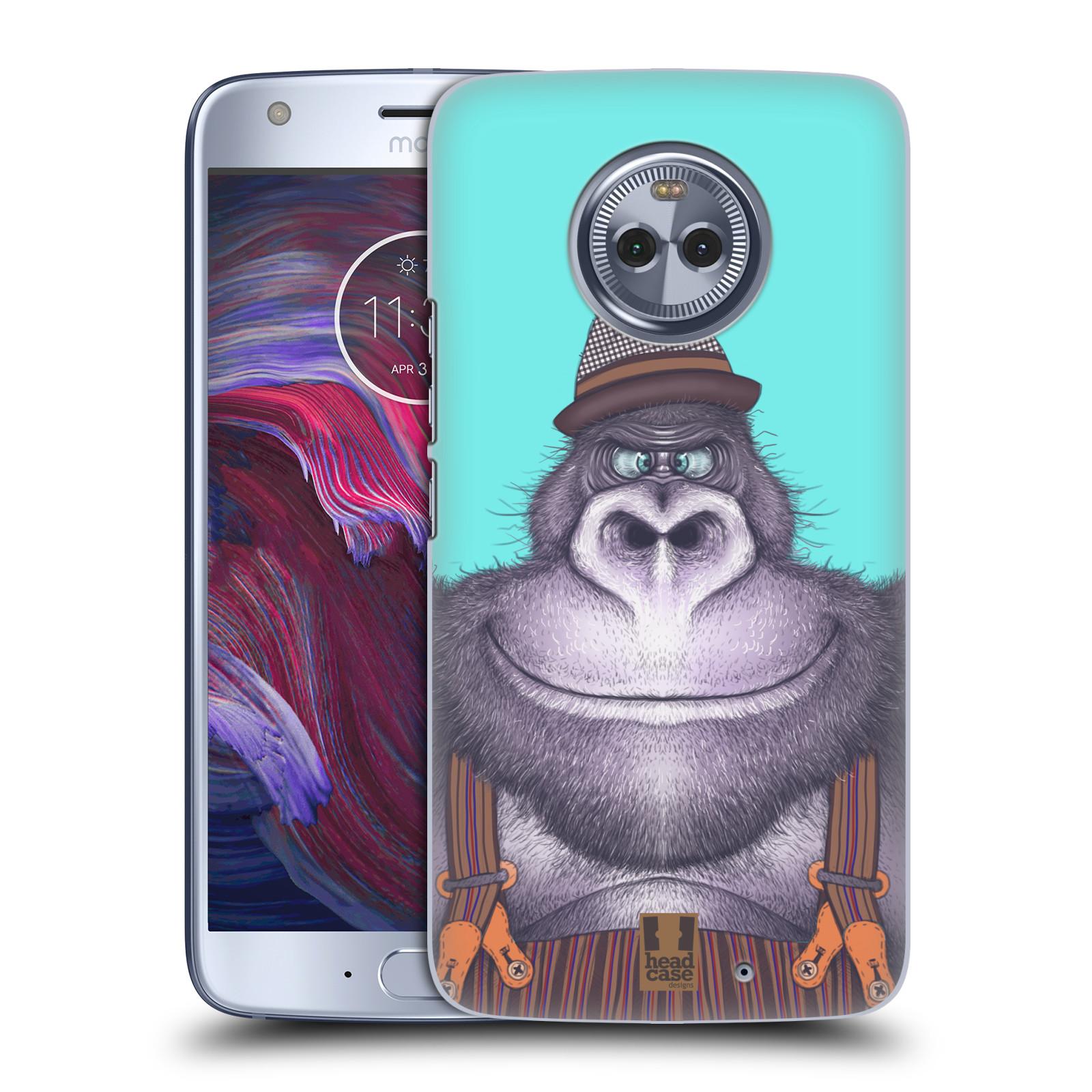 Plastové pouzdro na mobil Lenovo Moto X4 - Head Case - ANIMPLA GORILÁK