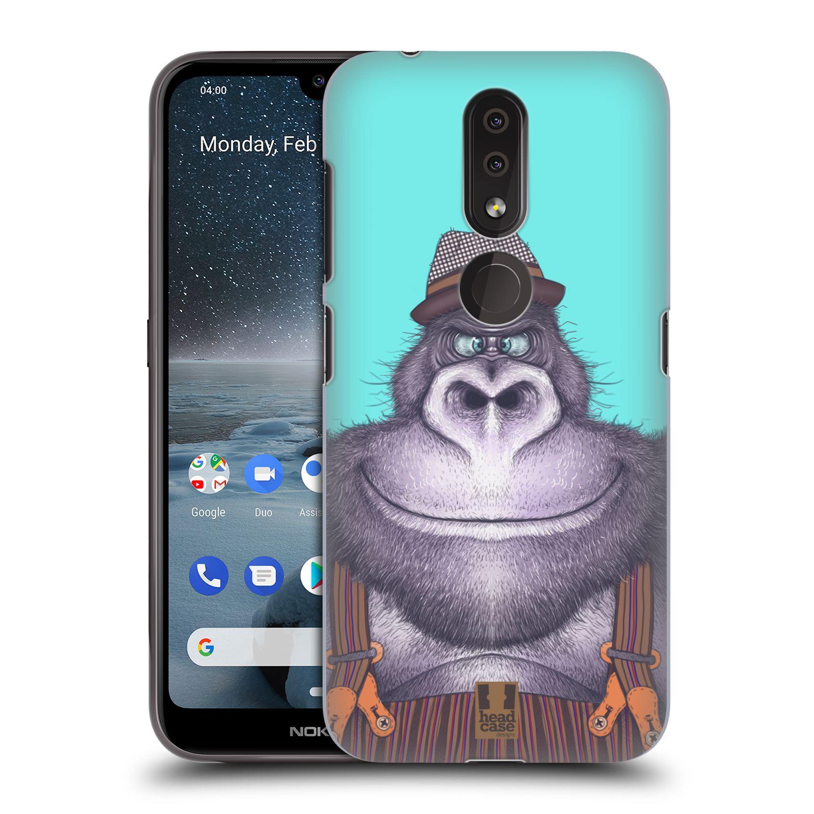 Plastové pouzdro na mobil Nokia 4.2 - Head Case - ANIMPLA GORILÁK