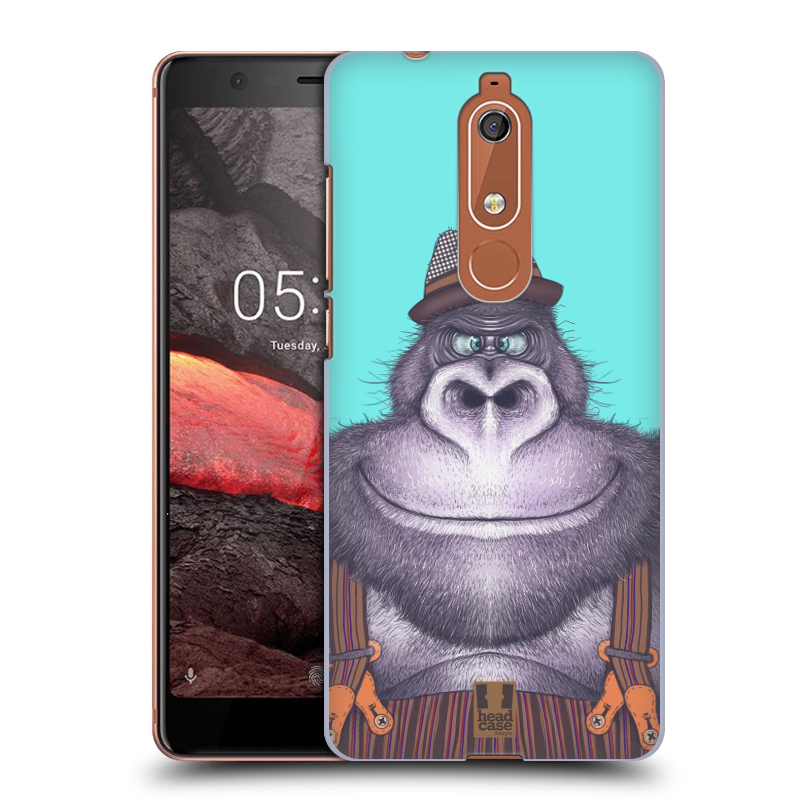 Plastové pouzdro na mobil Nokia 5.1 - Head Case - ANIMPLA GORILÁK