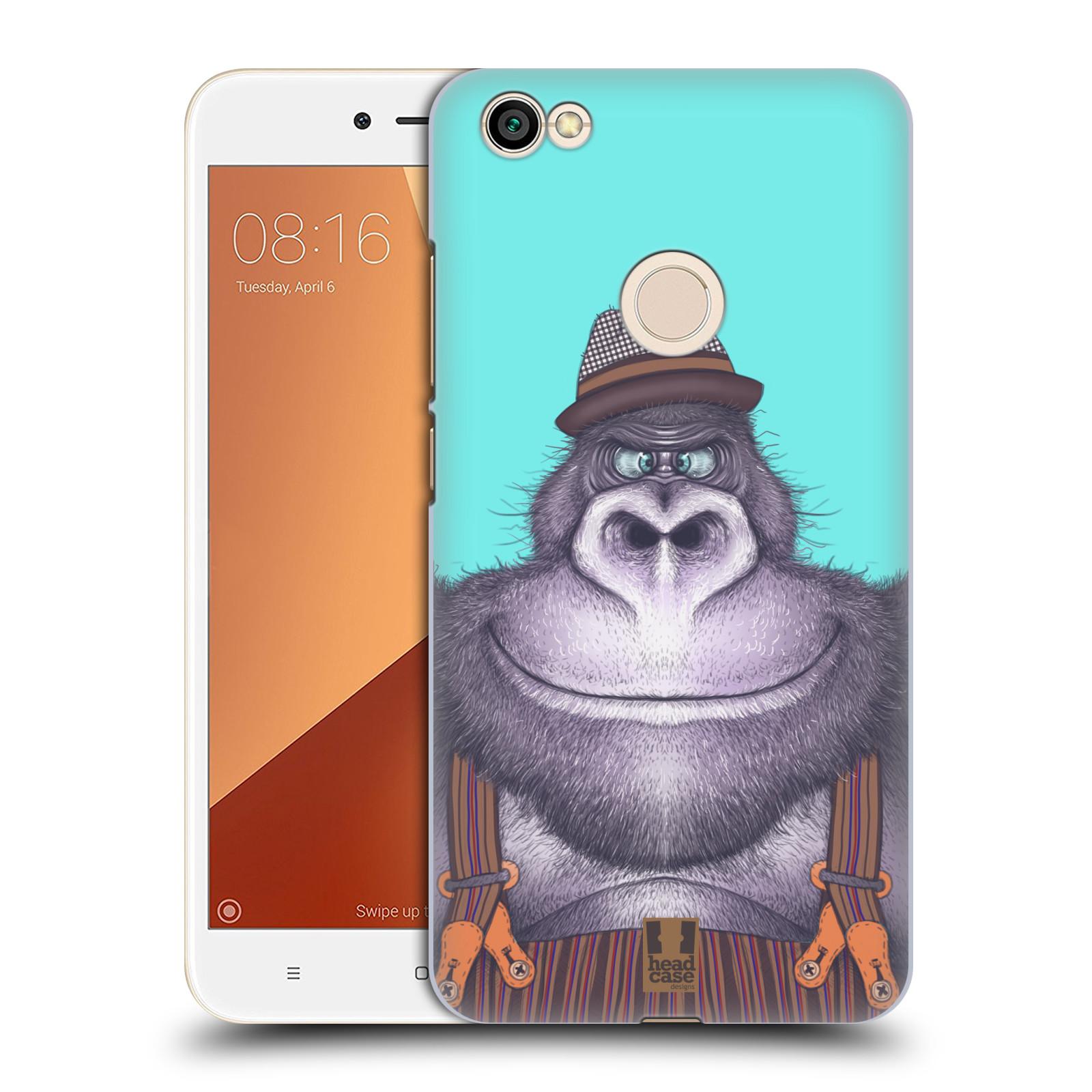 Plastové pouzdro na mobil Xiaomi Redmi Note 5A Prime - Head Case - ANIMPLA GORILÁK