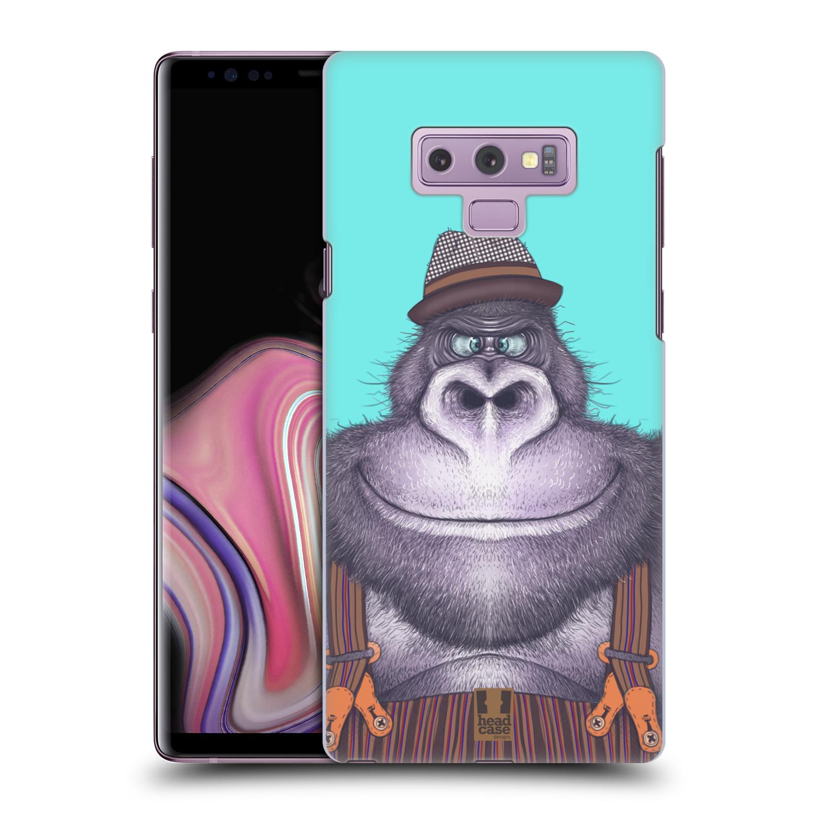 Plastové pouzdro na mobil Samsung Galaxy Note 9 - Head Case - ANIMPLA GORILÁK