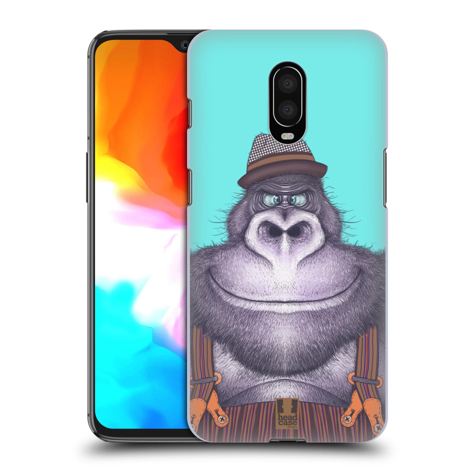 Plastové pouzdro na mobil OnePlus 6T - Head Case - ANIMPLA GORILÁK