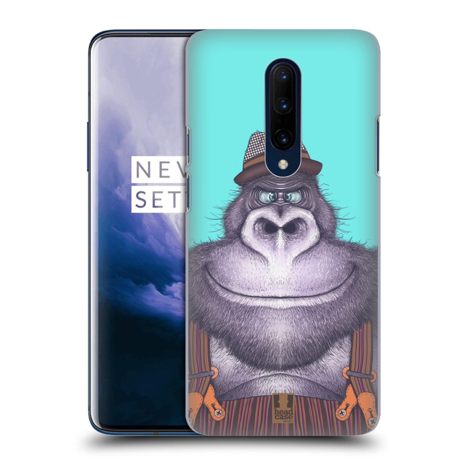 Plastové pouzdro na mobil OnePlus 7 Pro - Head Case - ANIMPLA GORILÁK