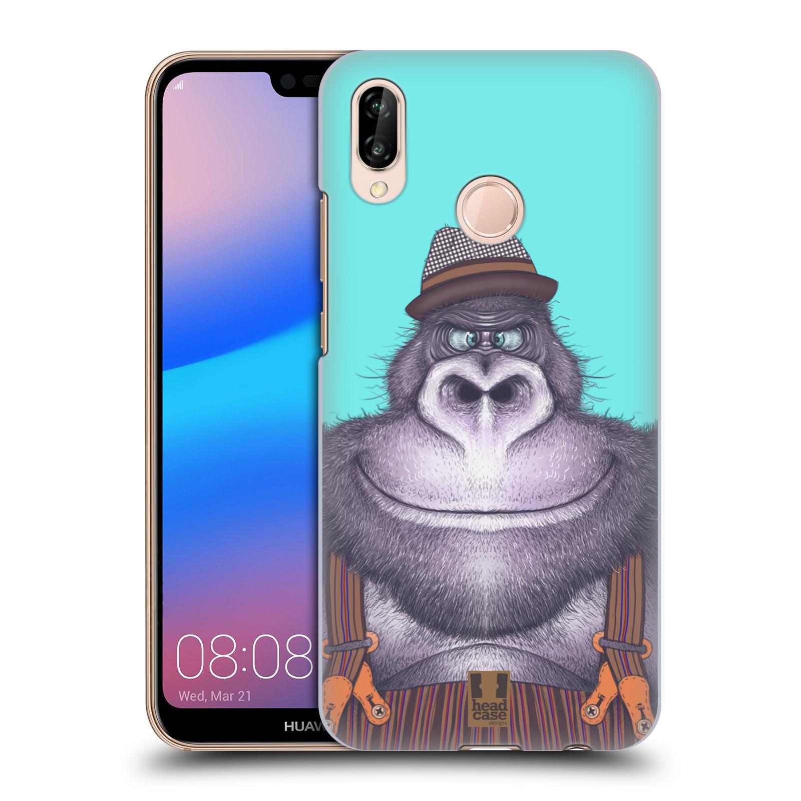 Plastové pouzdro na mobil Huawei P20 Lite - Head Case - ANIMPLA GORILÁK