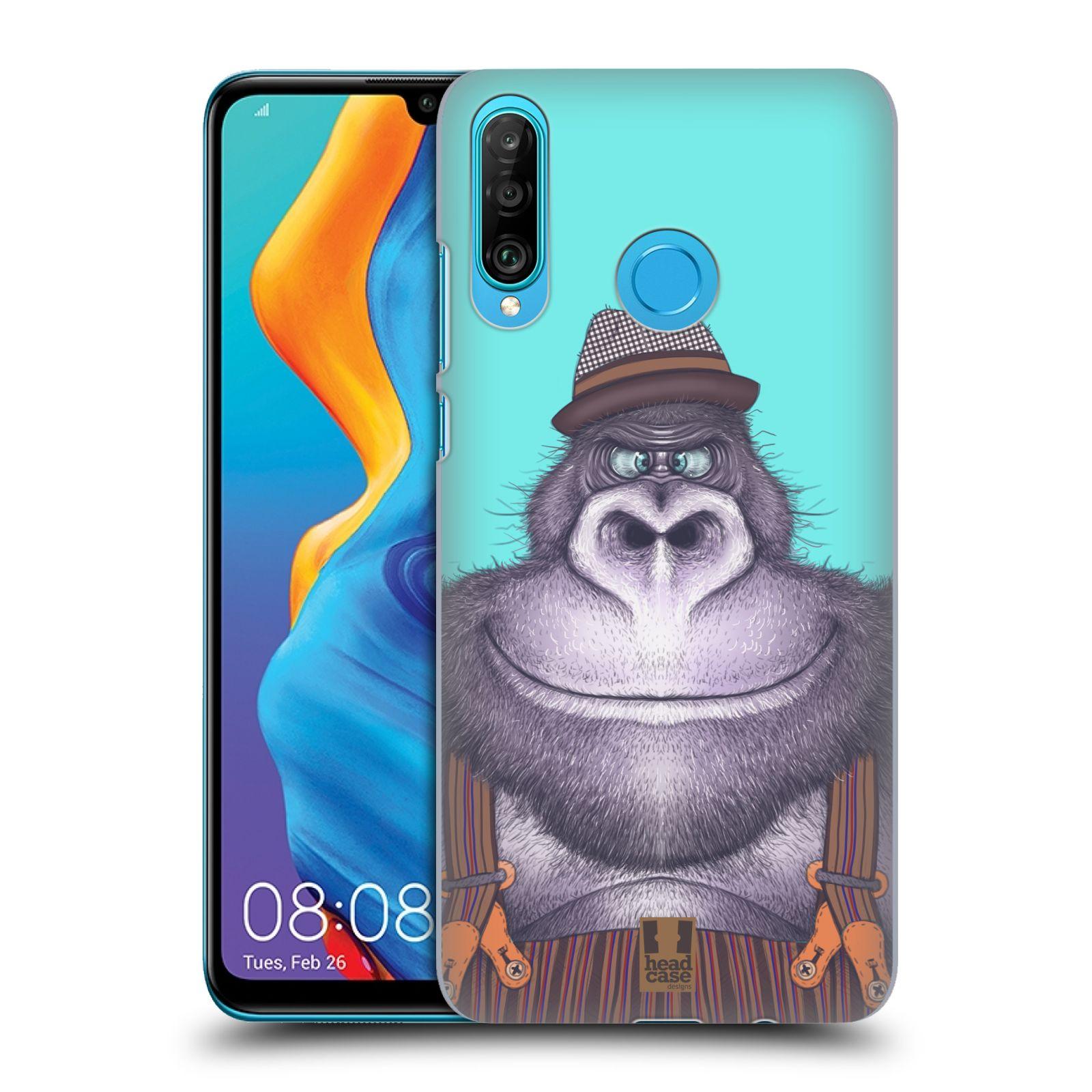 Plastové pouzdro na mobil Huawei P30 Lite - Head Case - ANIMPLA GORILÁK