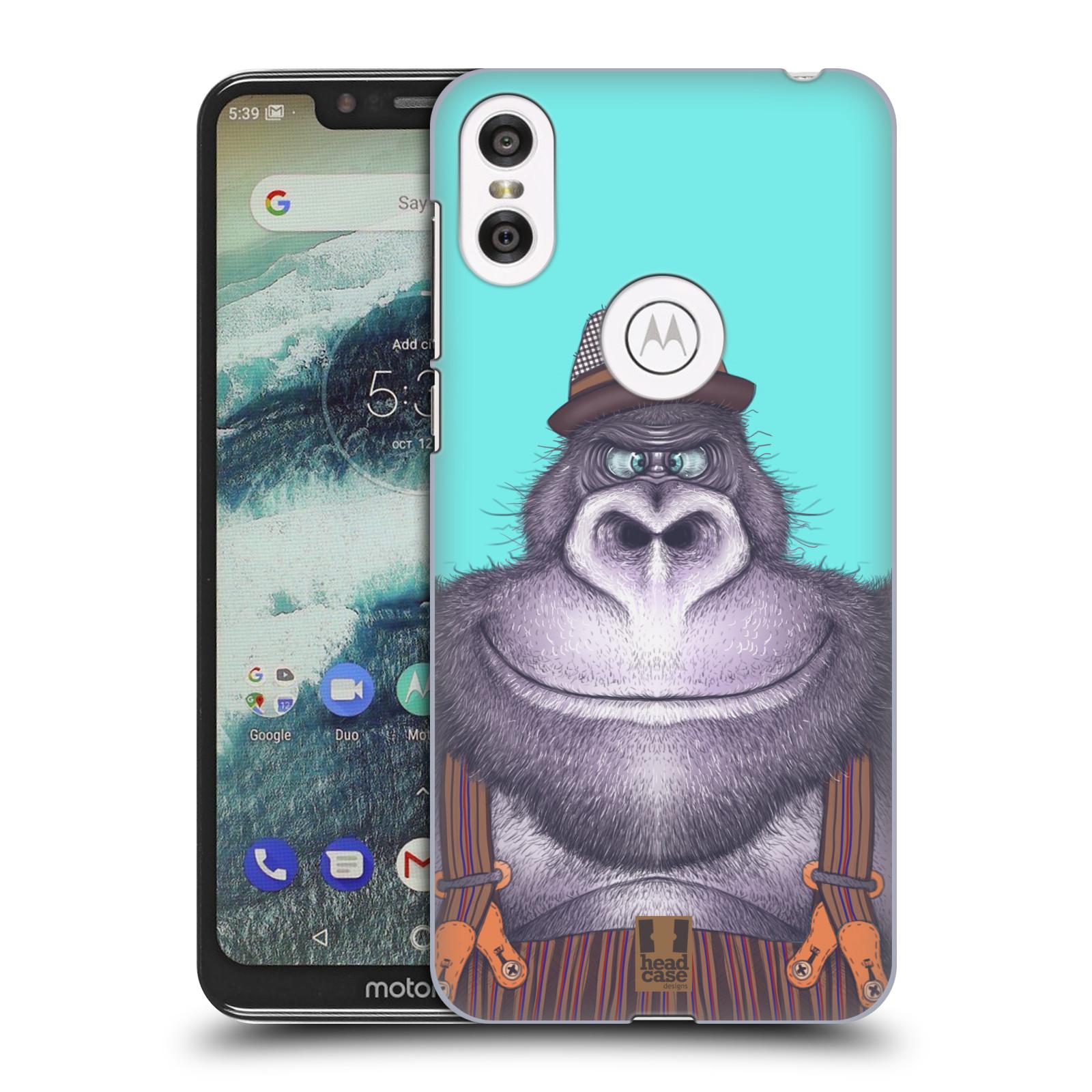Plastové pouzdro na mobil Motorola One - Head Case - ANIMPLA GORILÁK