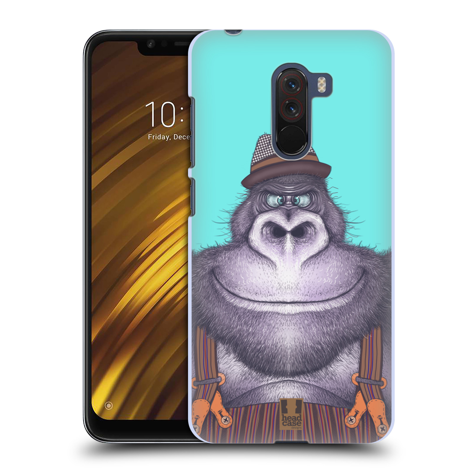 Plastové pouzdro na mobil Xiaomi Pocophone F1 - Head Case - ANIMPLA GORILÁK