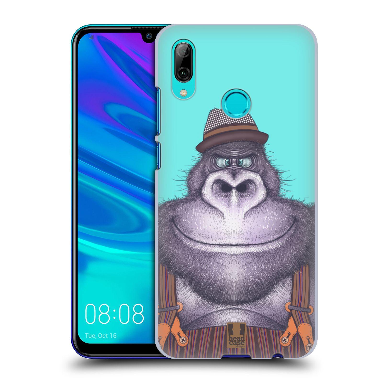 Plastové pouzdro na mobil Huawei P Smart (2019) - Head Case - ANIMPLA GORILÁK