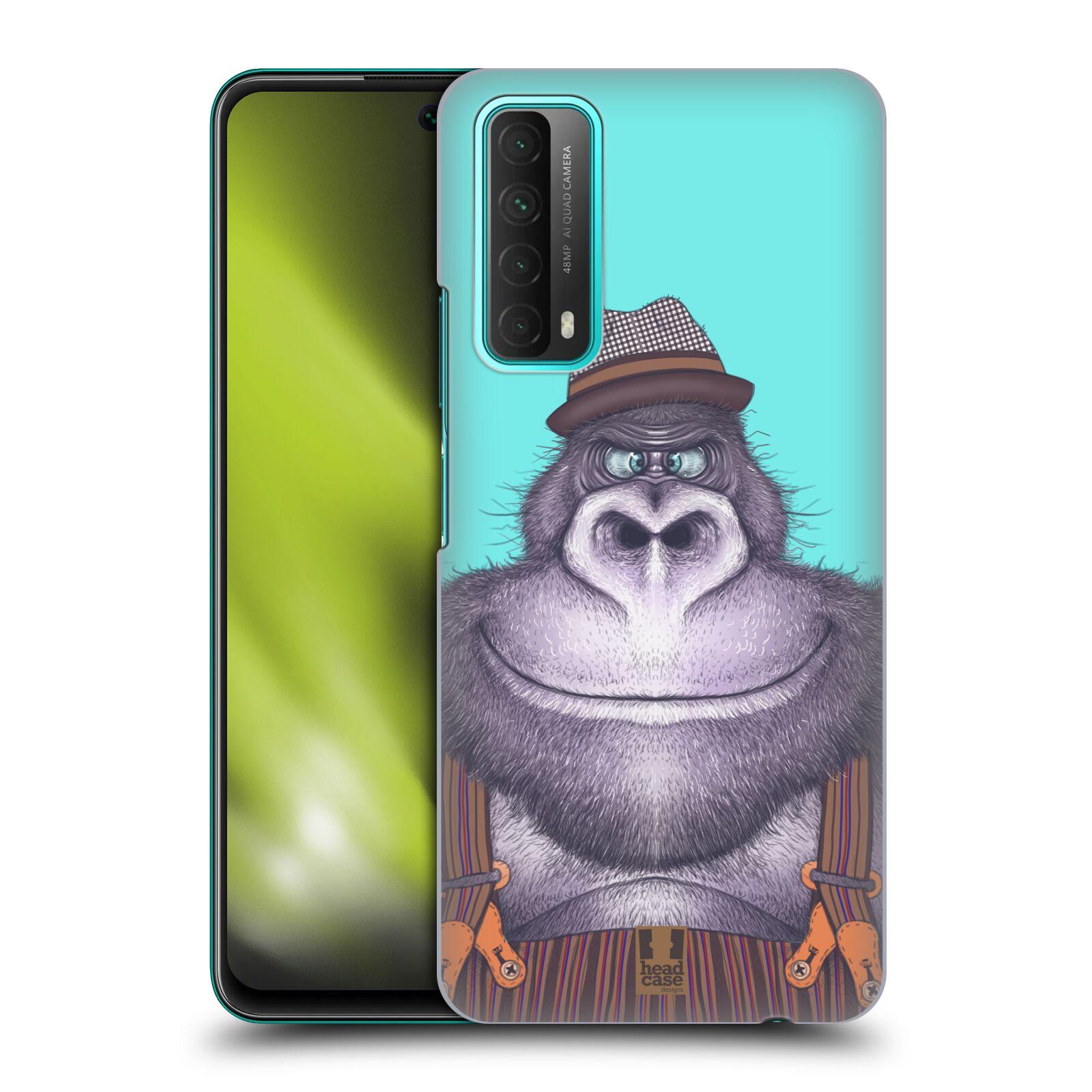 Plastové pouzdro na mobil Huawei P Smart (2021) - Head Case - ANIMPLA GORILÁK