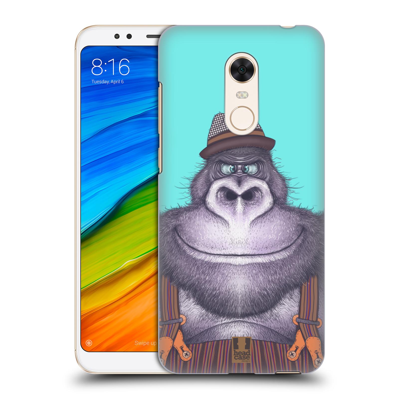 Plastové pouzdro na mobil Xiaomi Redmi 5 Plus - Head Case - ANIMPLA GORILÁK
